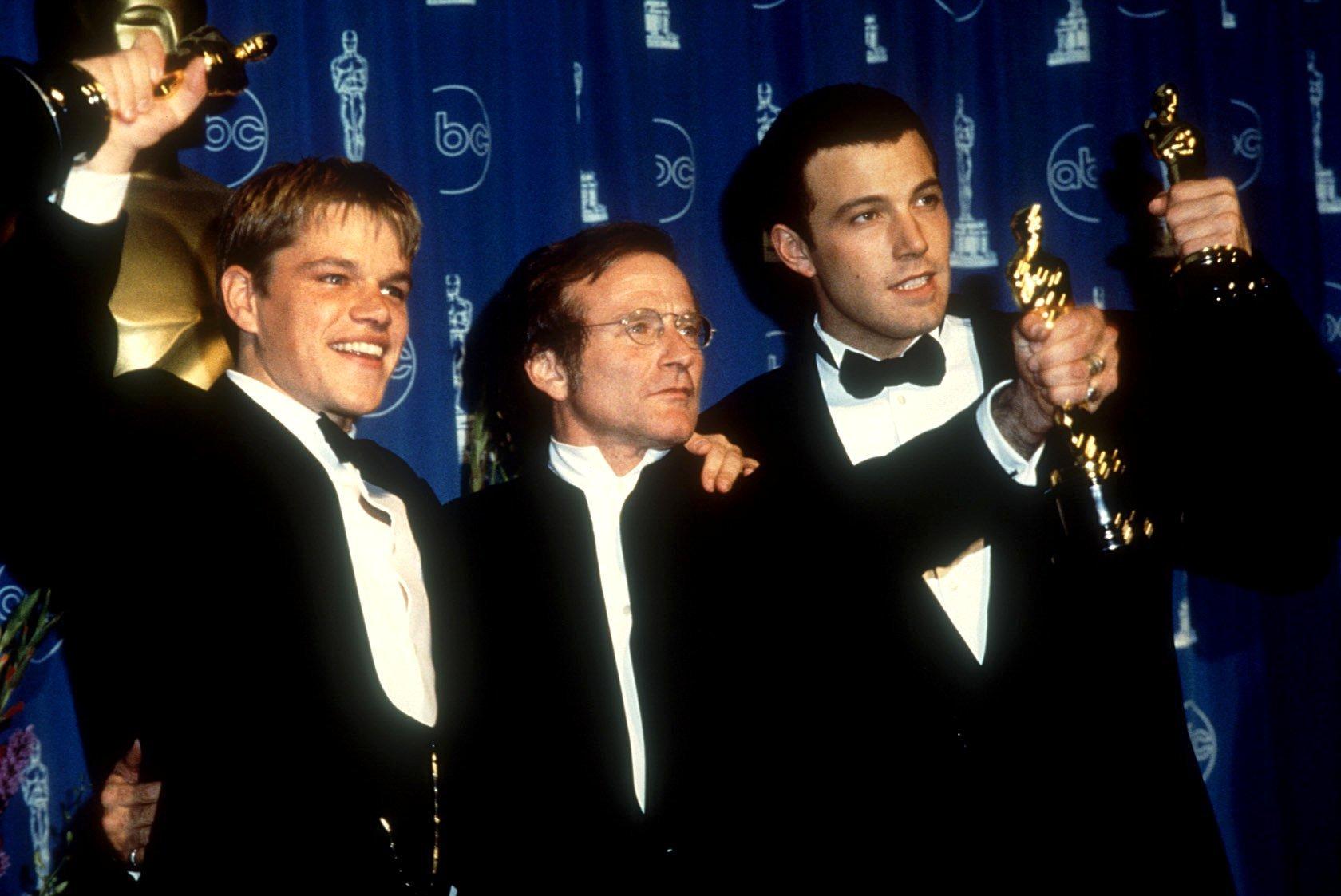 Ben Affleck, Robin Williams, Matt Damon
