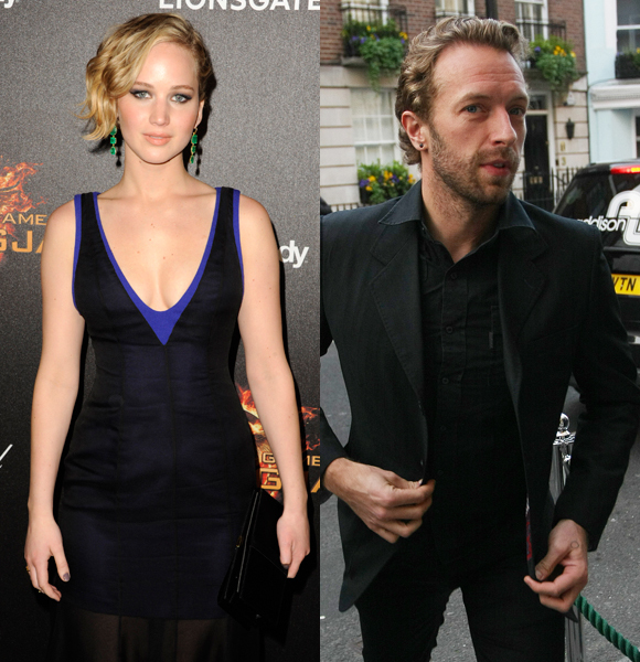 Jennifer Lawrence and Chris Martin step out for Central Park lunch date