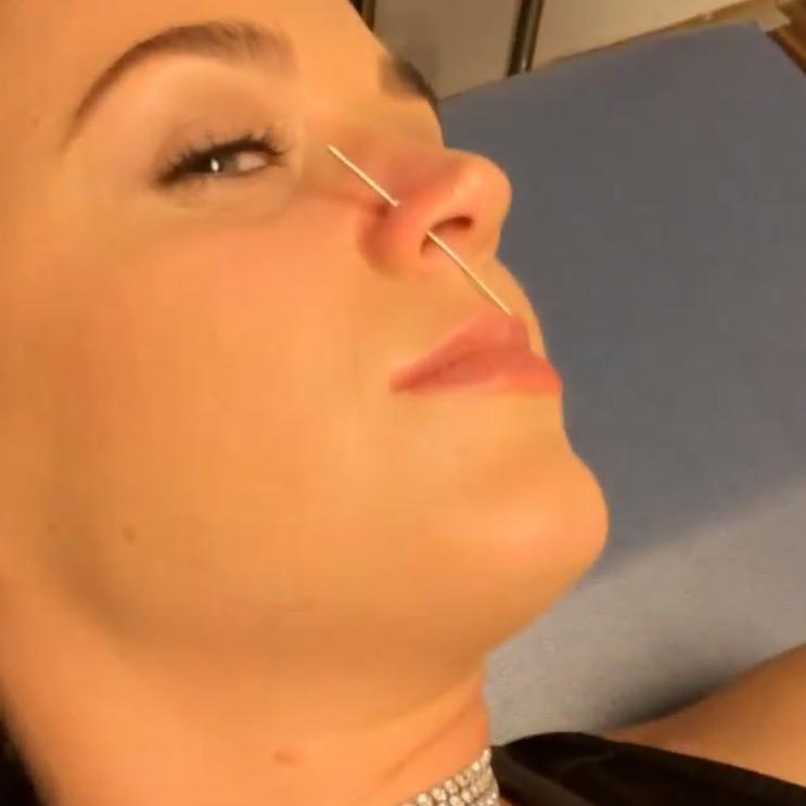 Katy Perry nose piercing