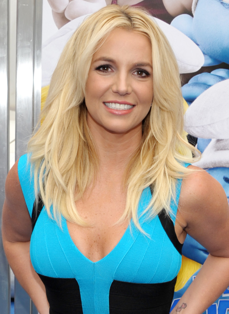 Britney Spears blond