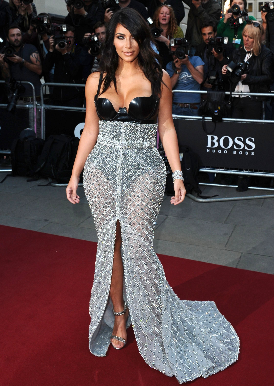 kim kardashian revealing