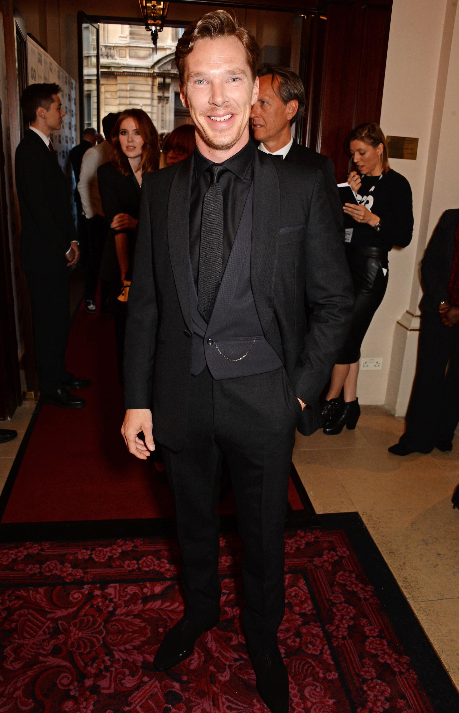 Benedict Cumberbatch is less than thrilled with his sex symbol status