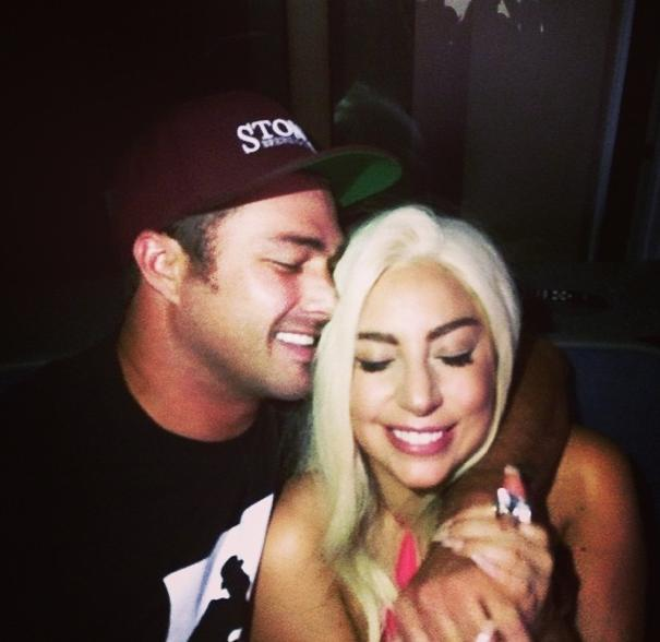Lady Gaga and Taylor Kinney reportedly held a commitment ceremony