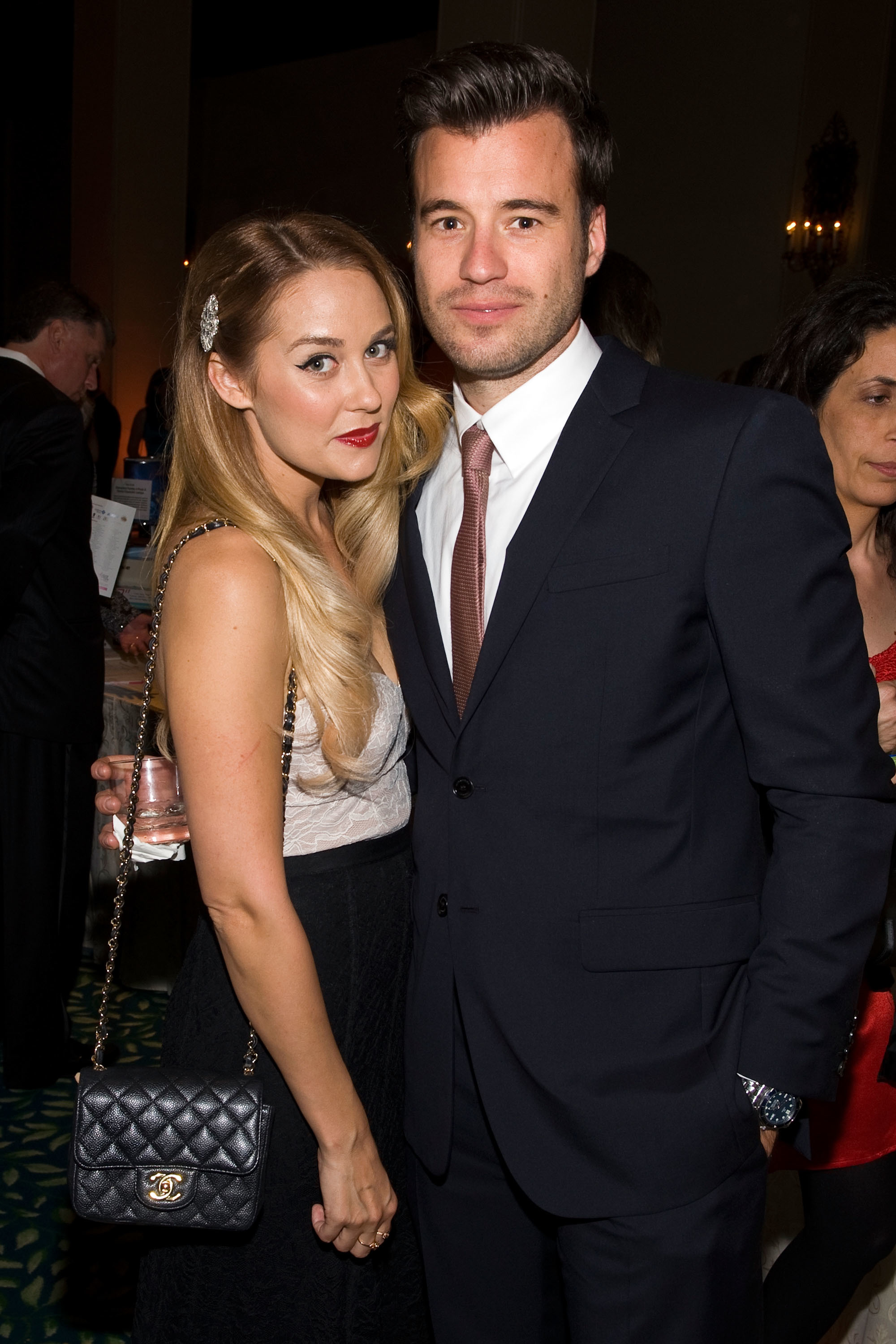 Lauren Conrad and her husband go way back