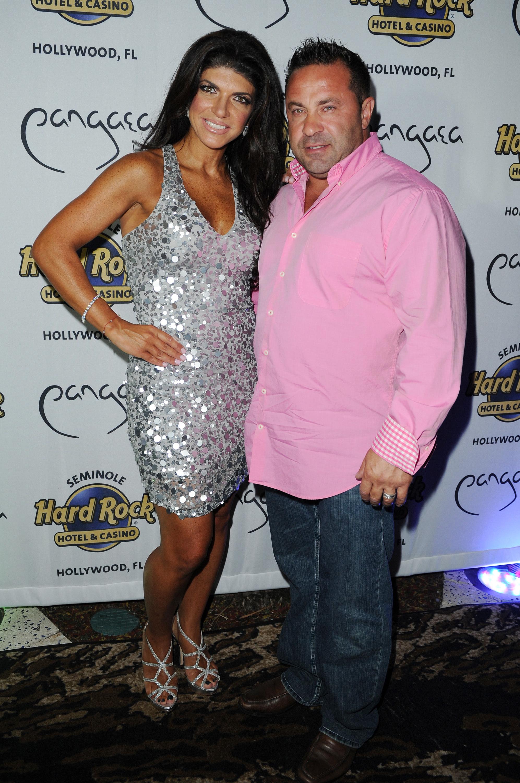 Teresa and Joe Giudice happy