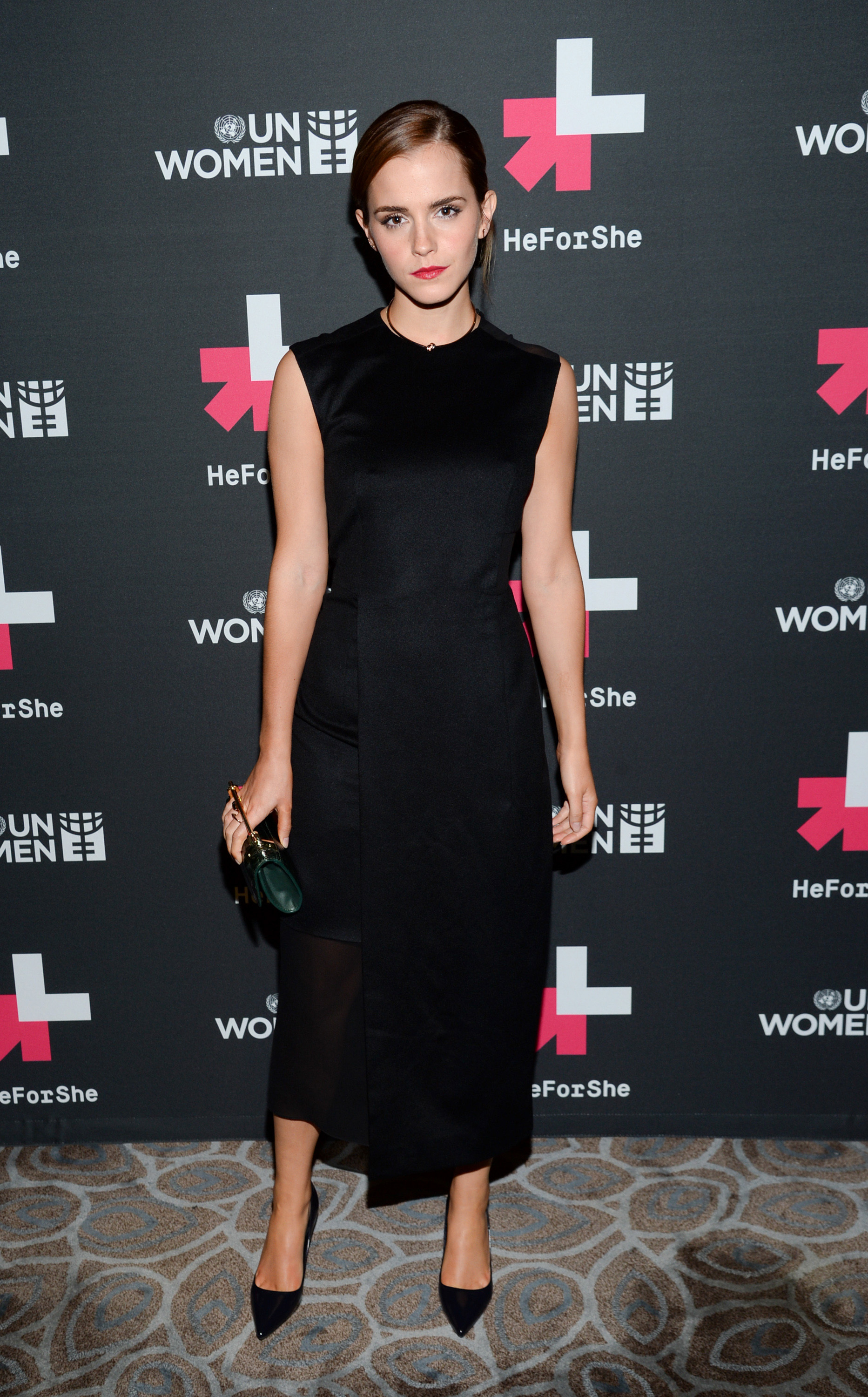 Emma Watson thanks Steve Carell for his #HeForShe fashion choice