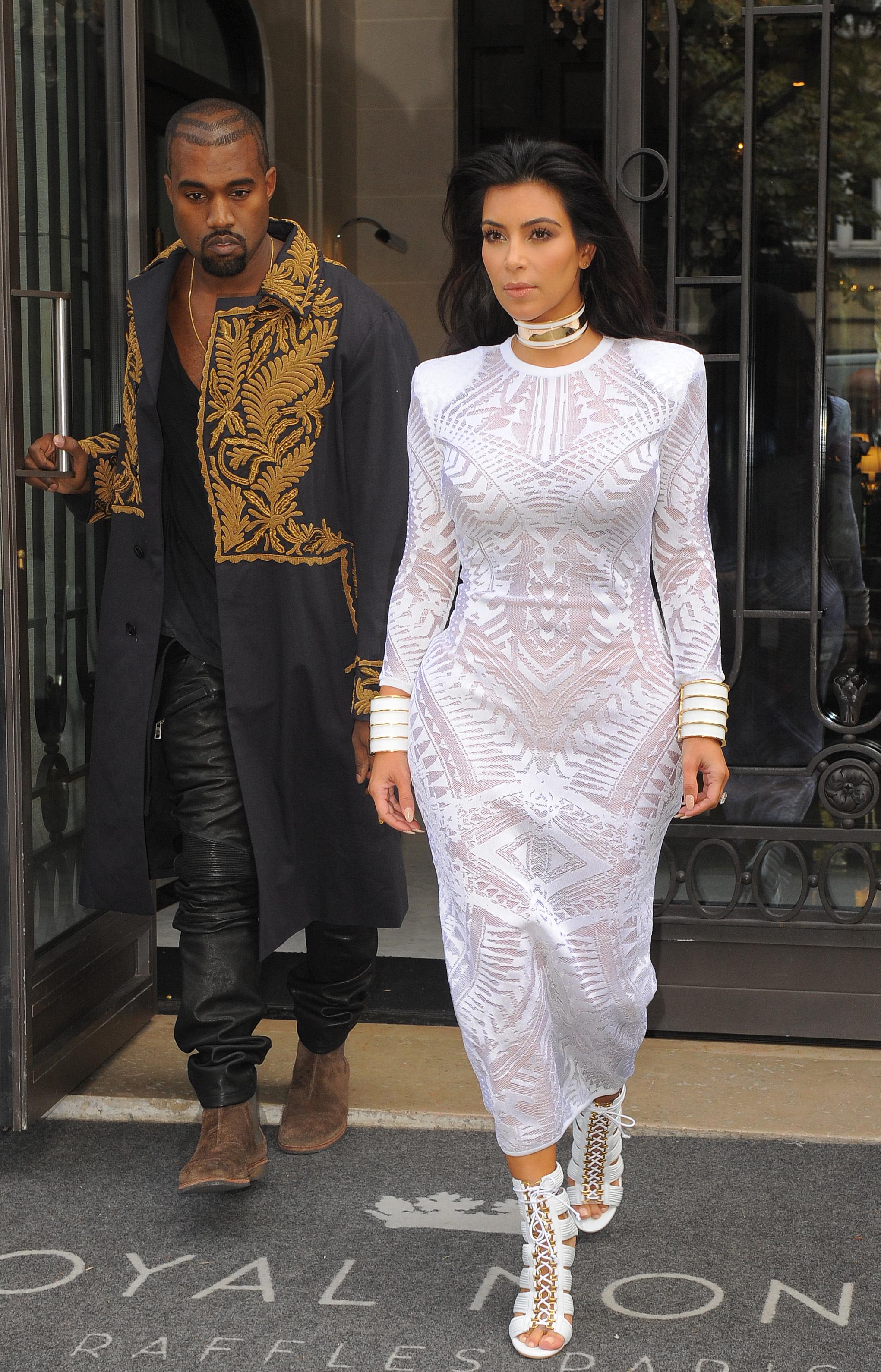 kim kardashian paris
