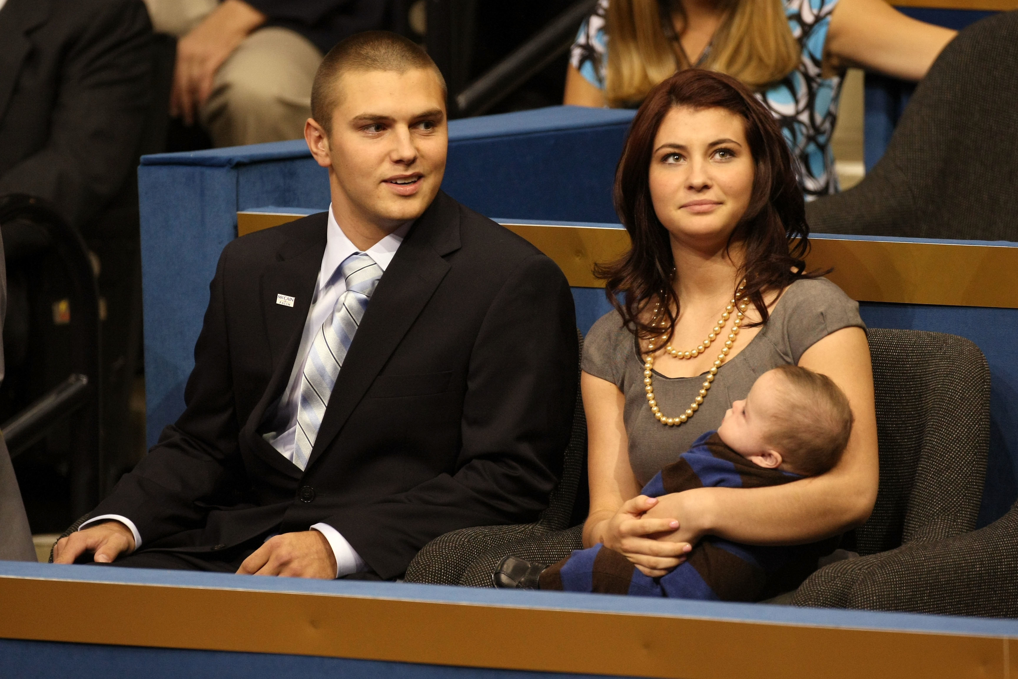 Sarah Palin's son arrested on domestic violence charge