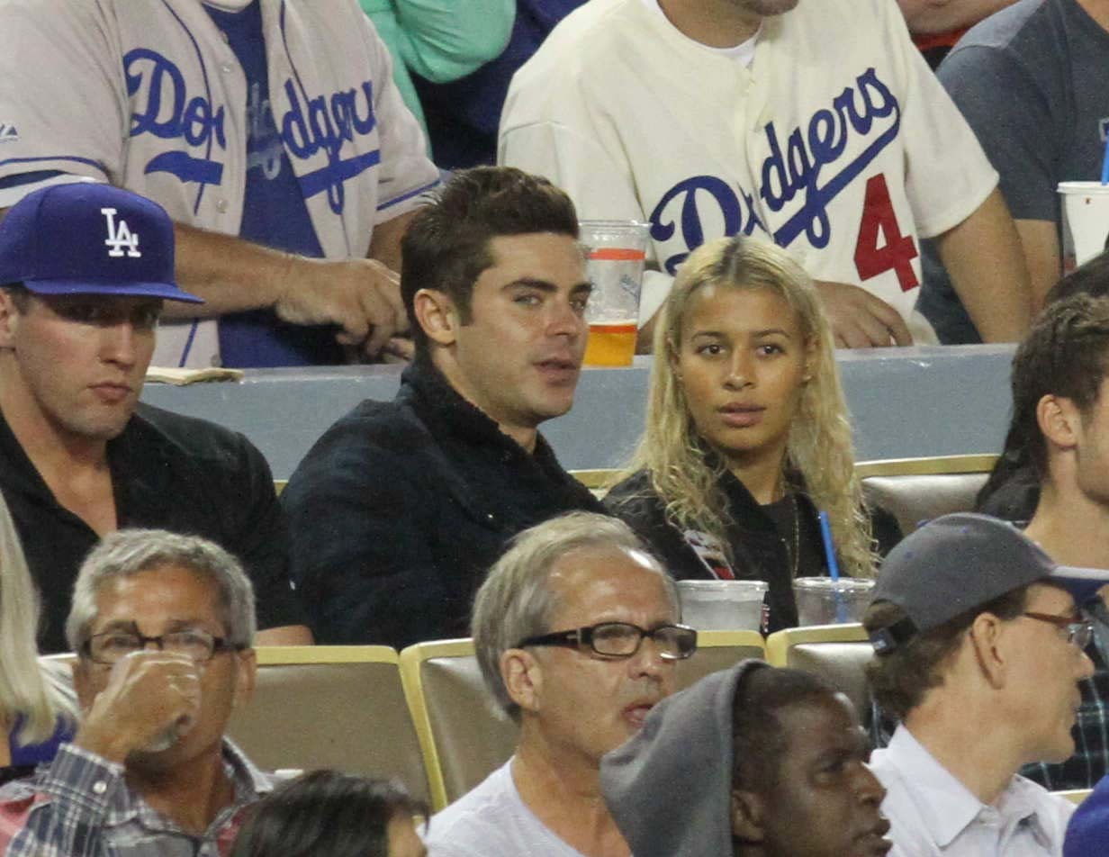 Does Zac Efron have a new lady in his life?