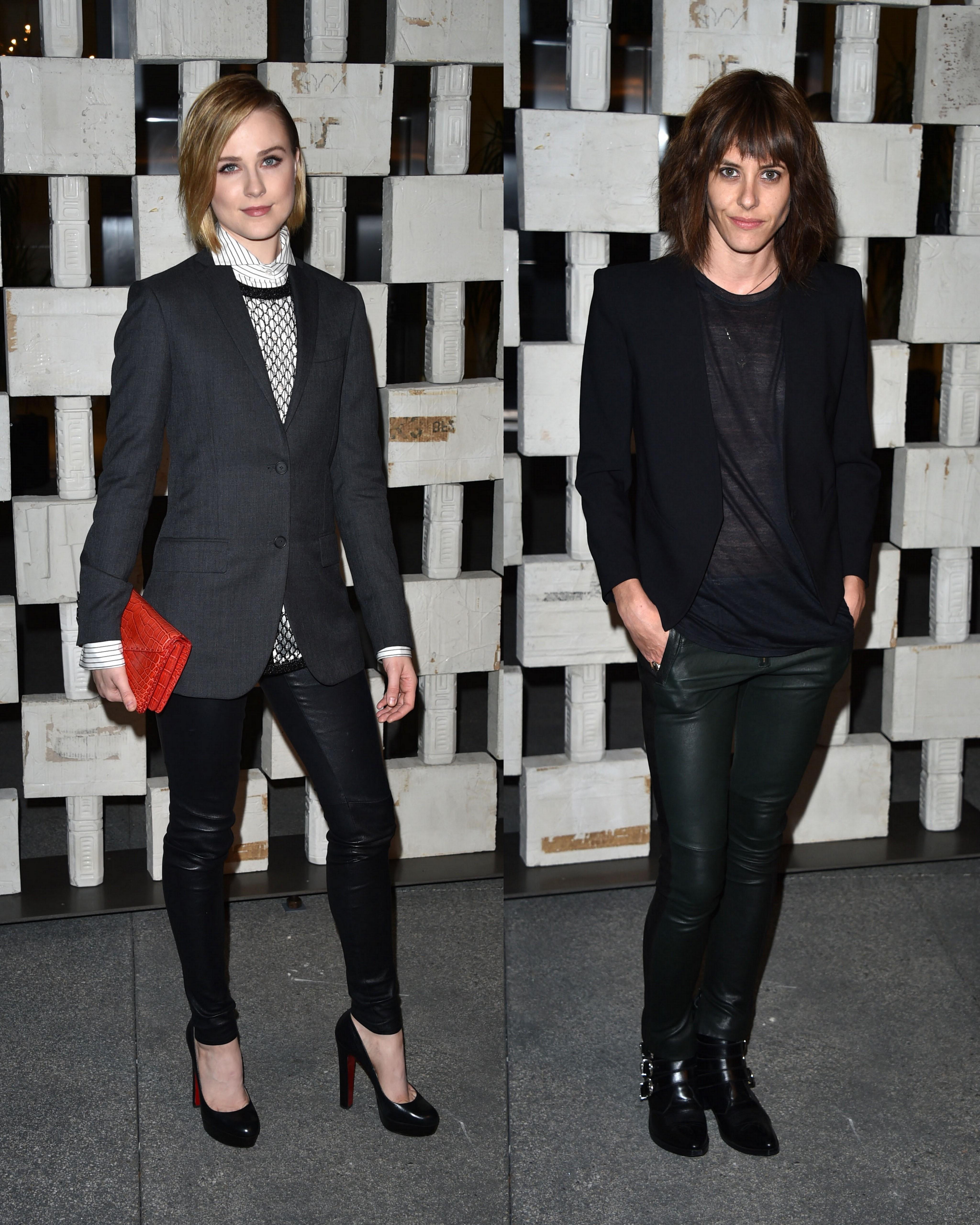 Evan Rachel Wood, Katherine Moennig spark romance rumors