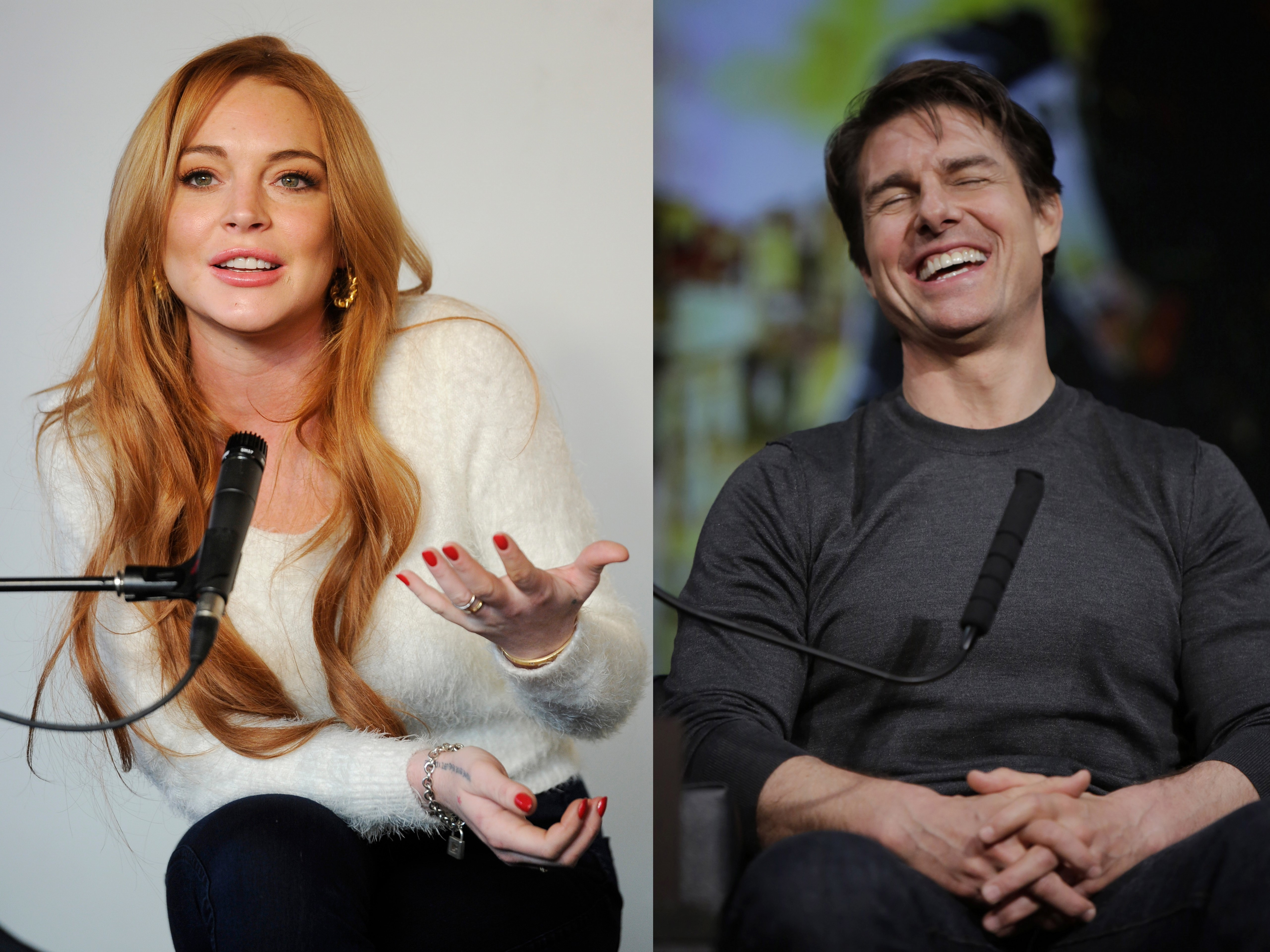 Lindsay Lohan's rep addresses Tom Cruise romance rumors