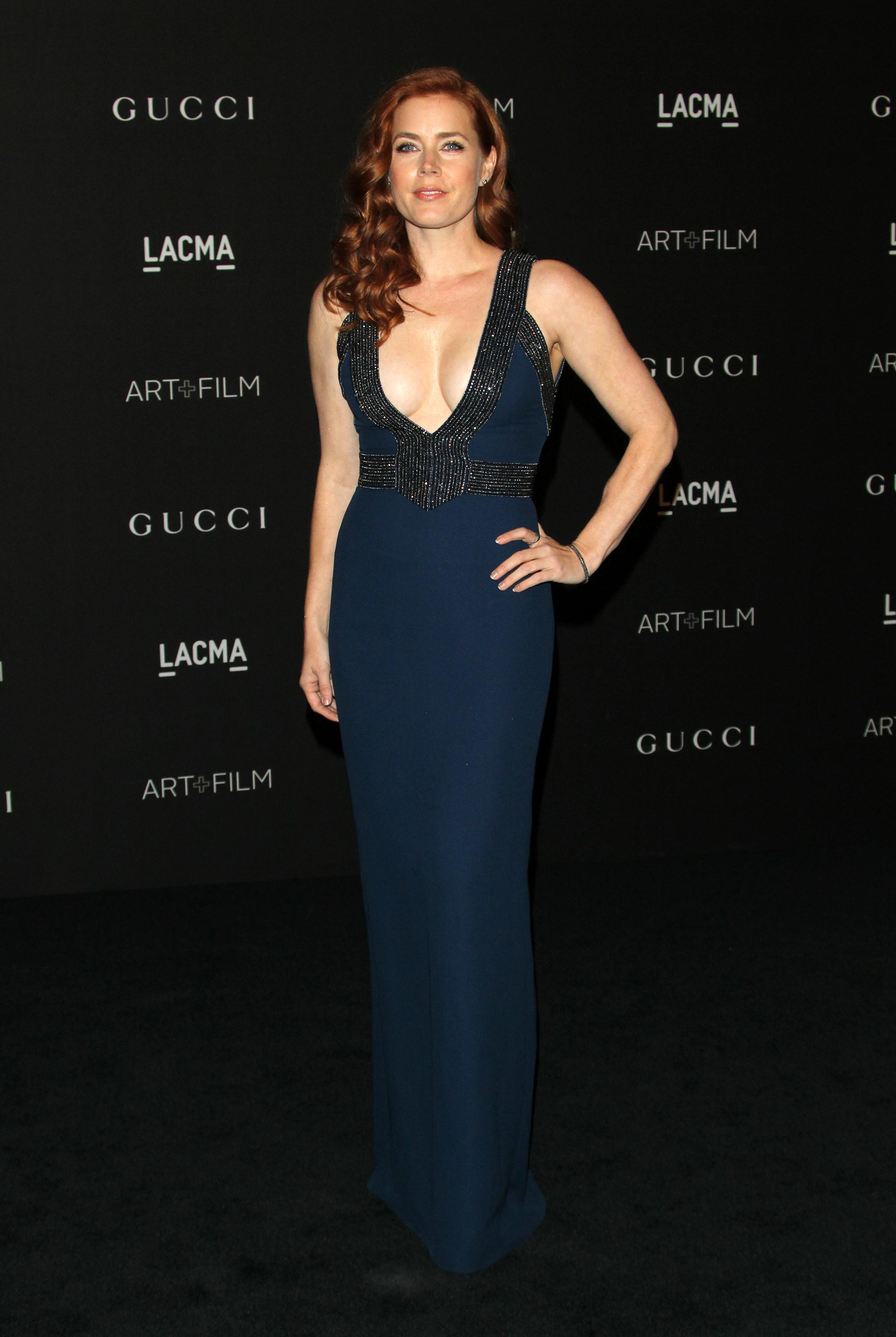 Amy Adams on Ben Affleck's Batman: 'He's hot'