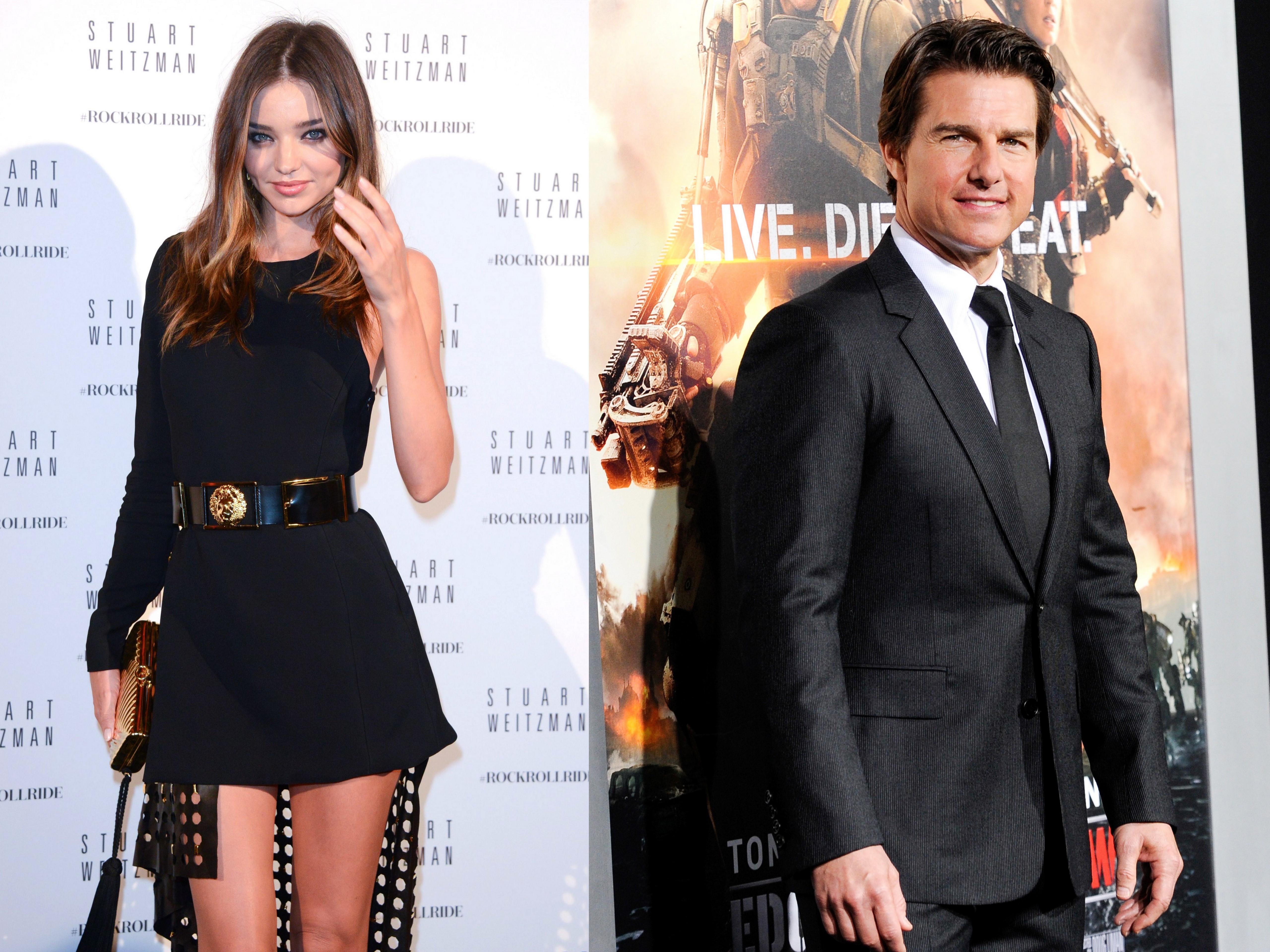 Are Miranda Kerr and Tom Cruise secretly dating?