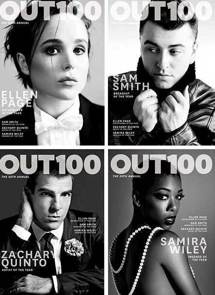 Ellen Page is Out magazine's Entertainer the Year