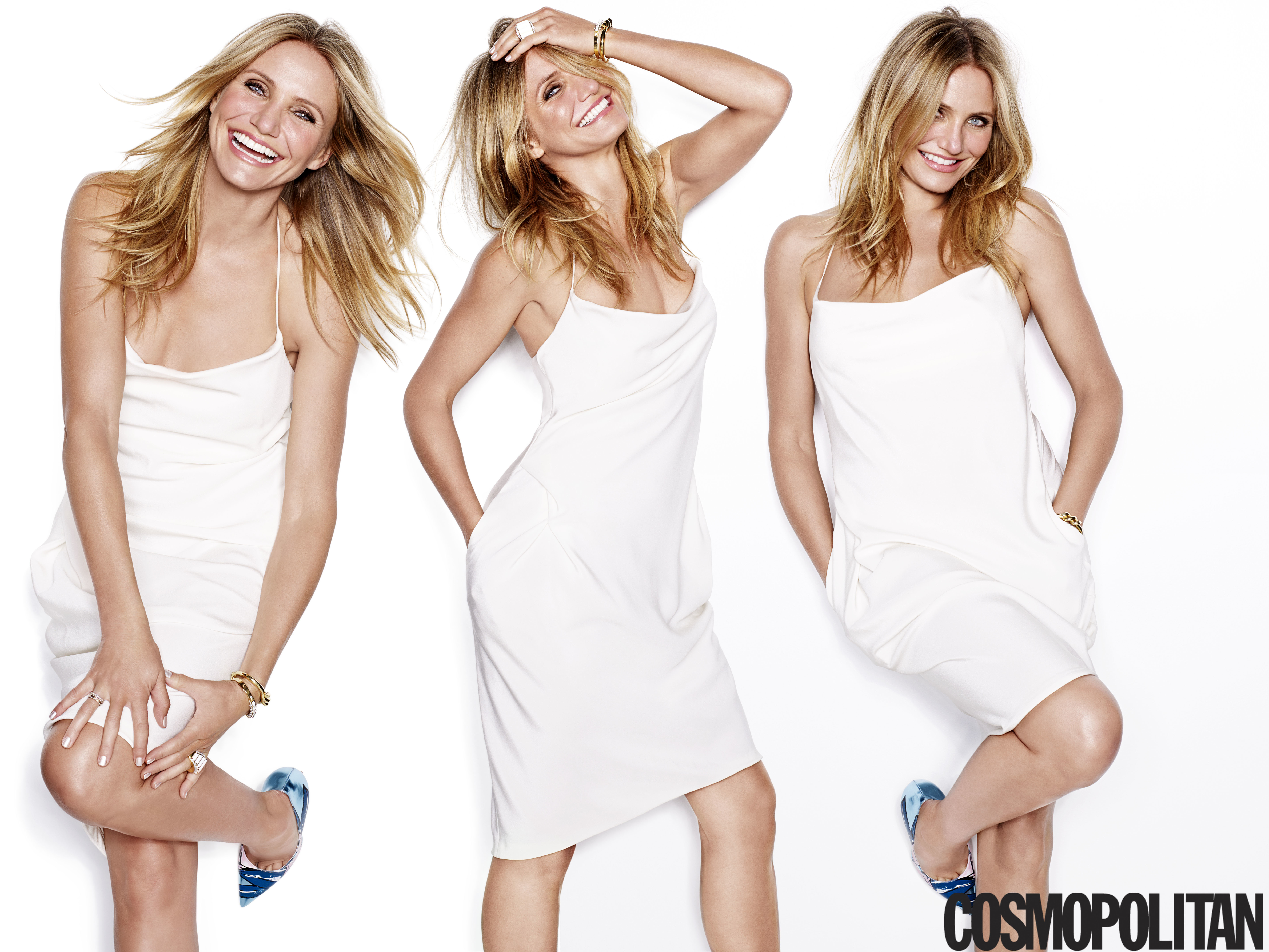Cameron Diaz talks timing, love and Miss Hannigan in Cosmo