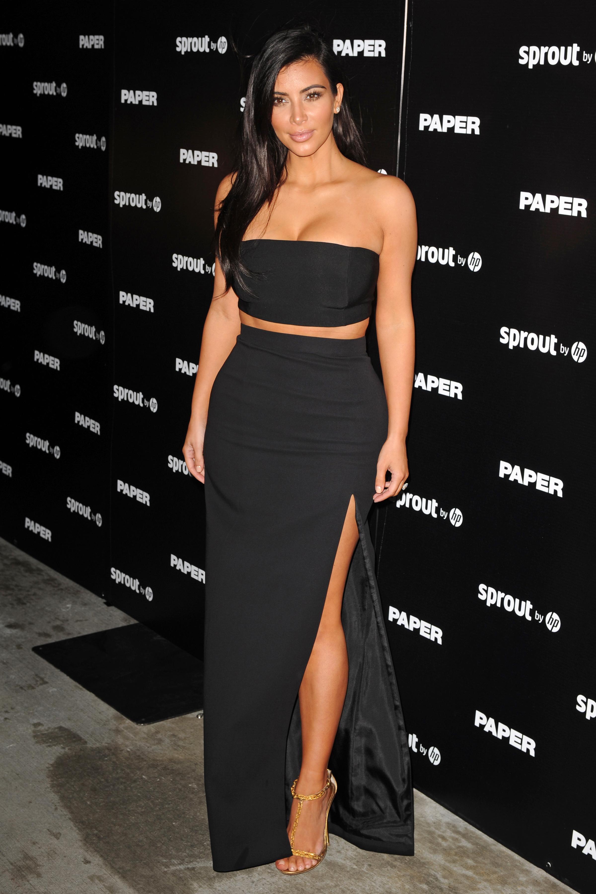 kim kardashian paper
