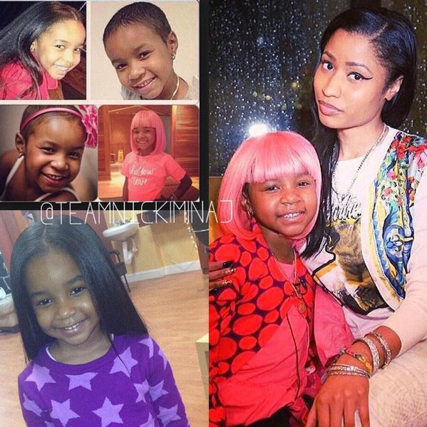 Nicki Minaj Mourns the Loss of a 6-Year-Old Fan to Cancer