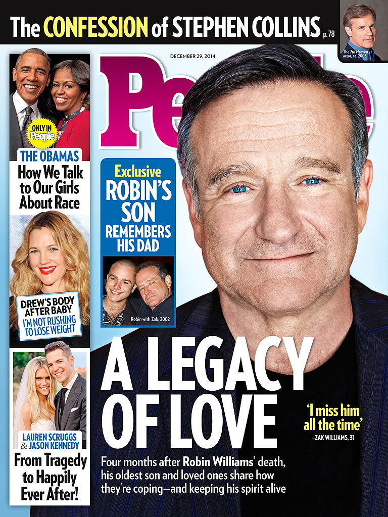 Robin Williams' son Zak opens up about his late dad