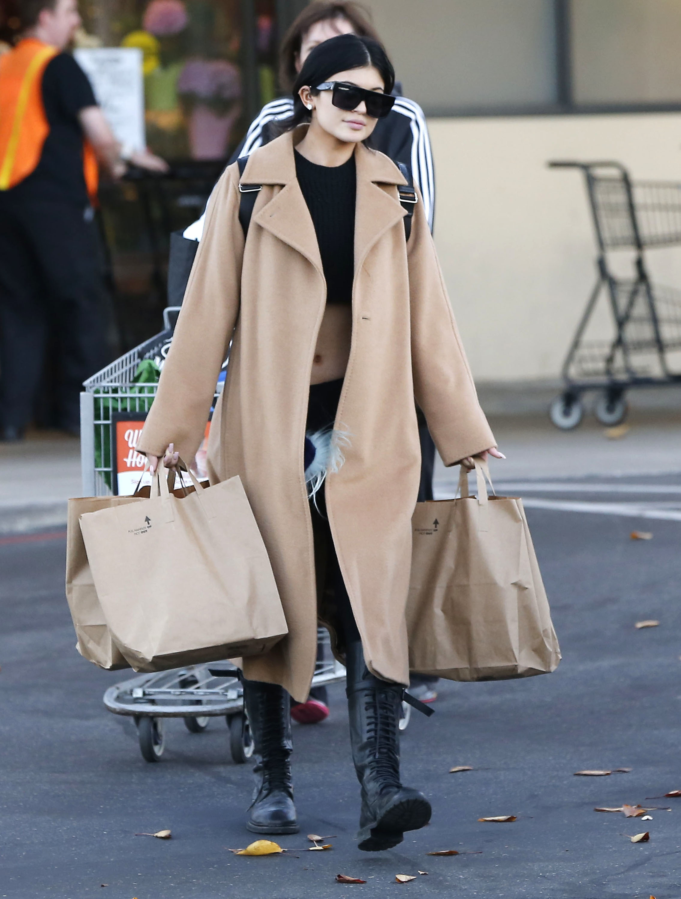 kylie jenner winter