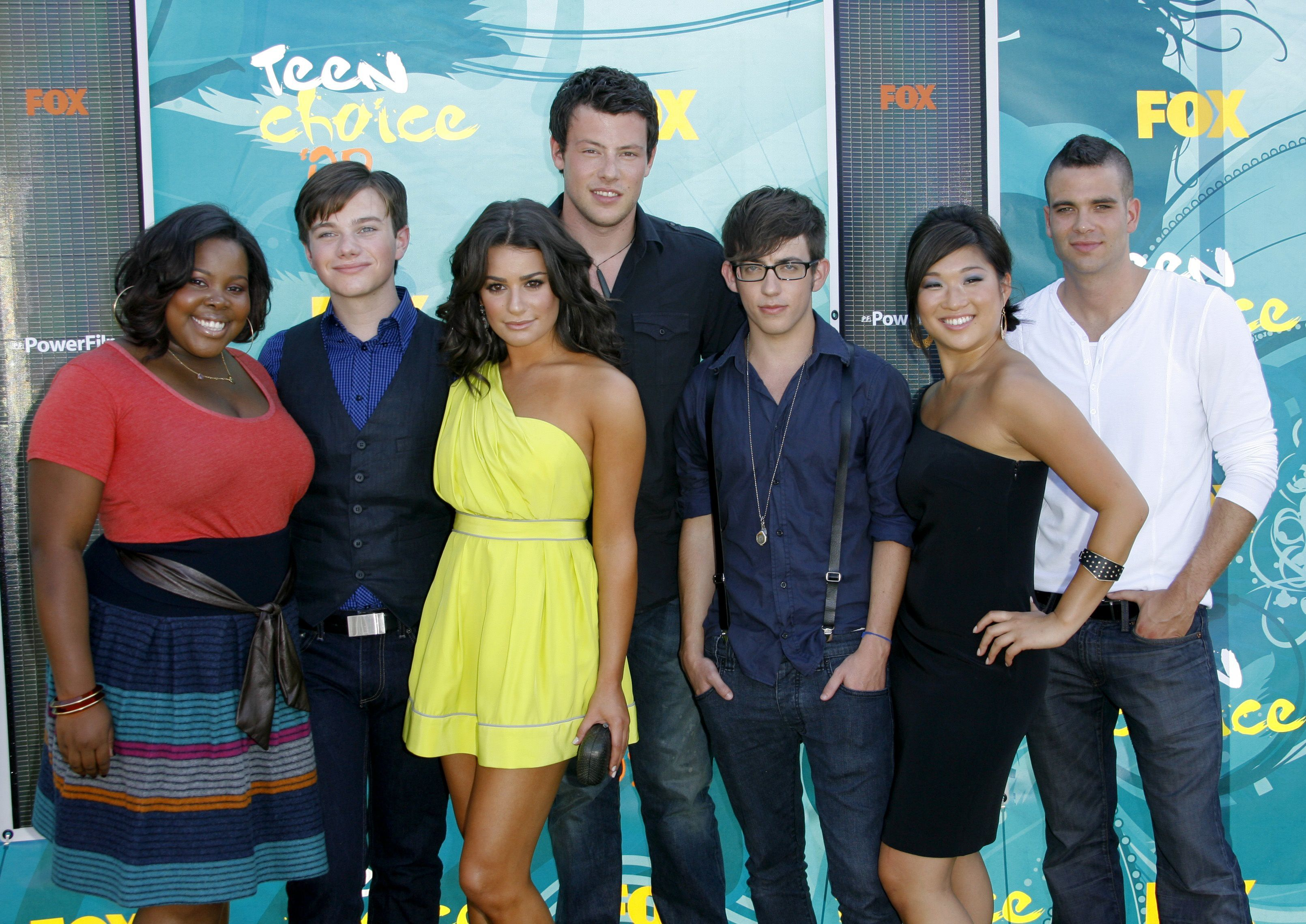 Who is hookup on glee in real life
