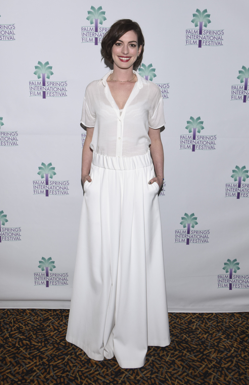 Anne Hathaway white