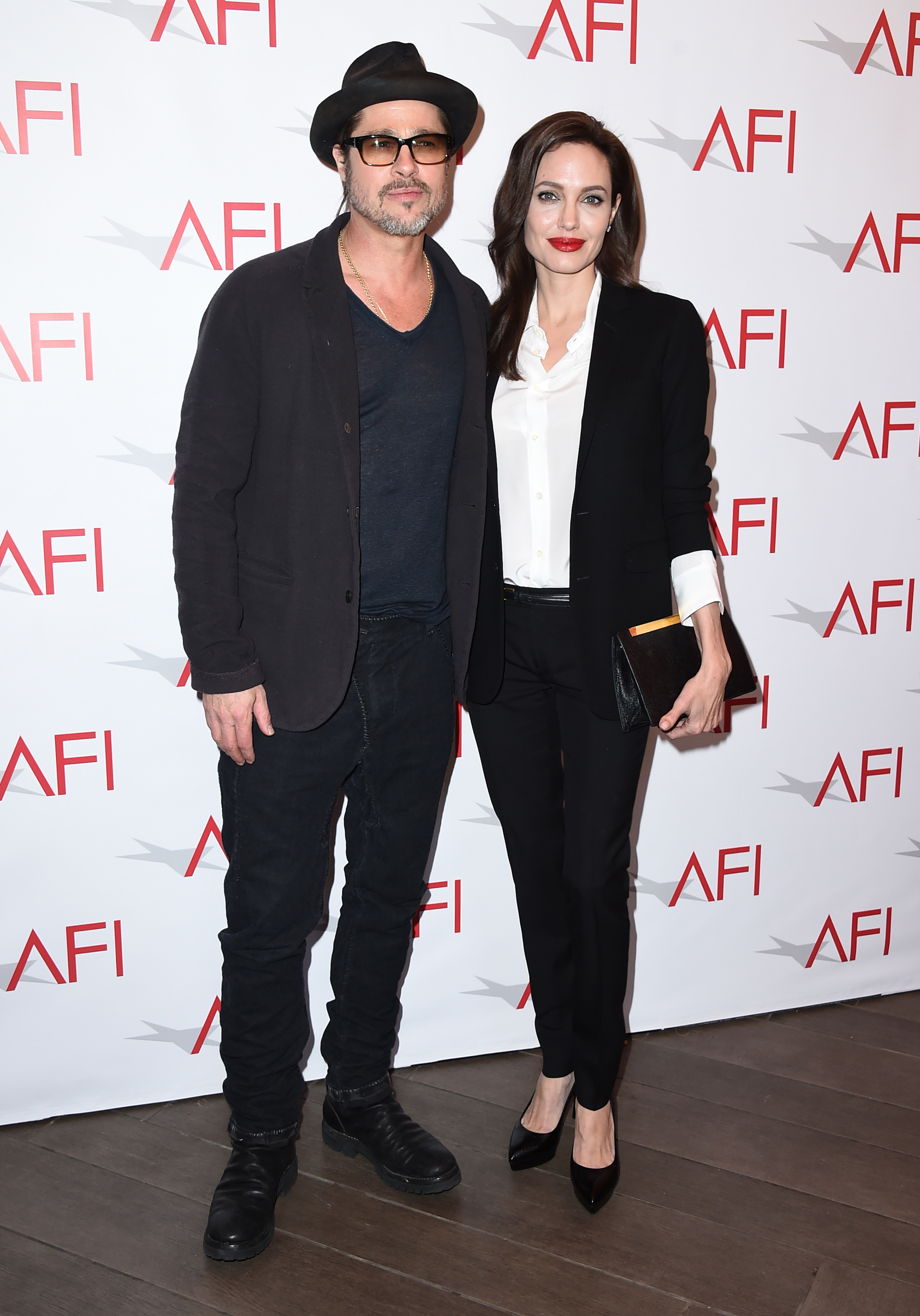 Are Brad Pitt and Angelina Jolie moving across the pond?