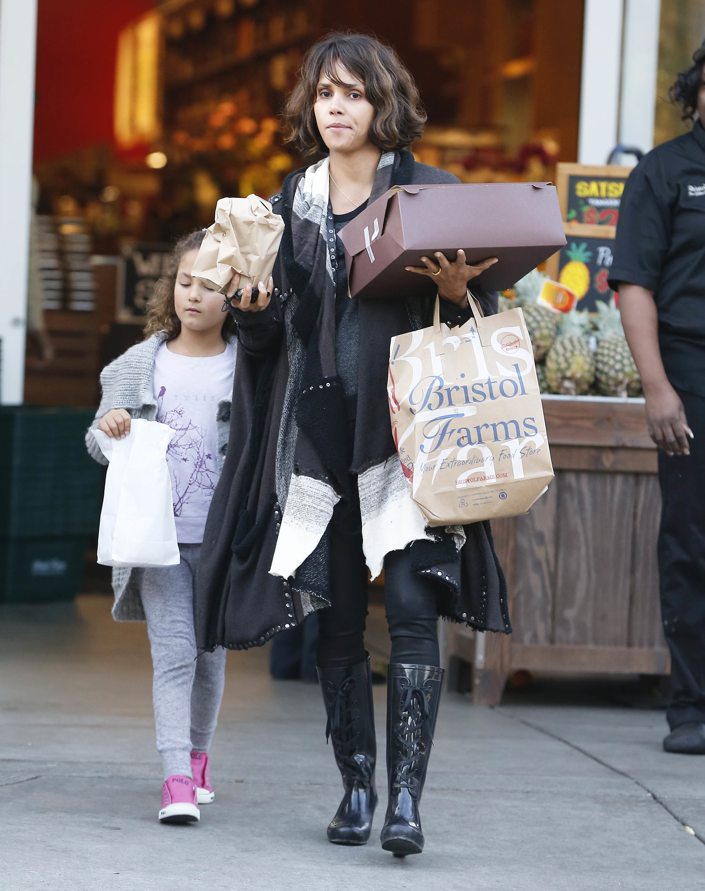 "Halle Berry marvels over daughter Nahla's ""philanthropic heart"""