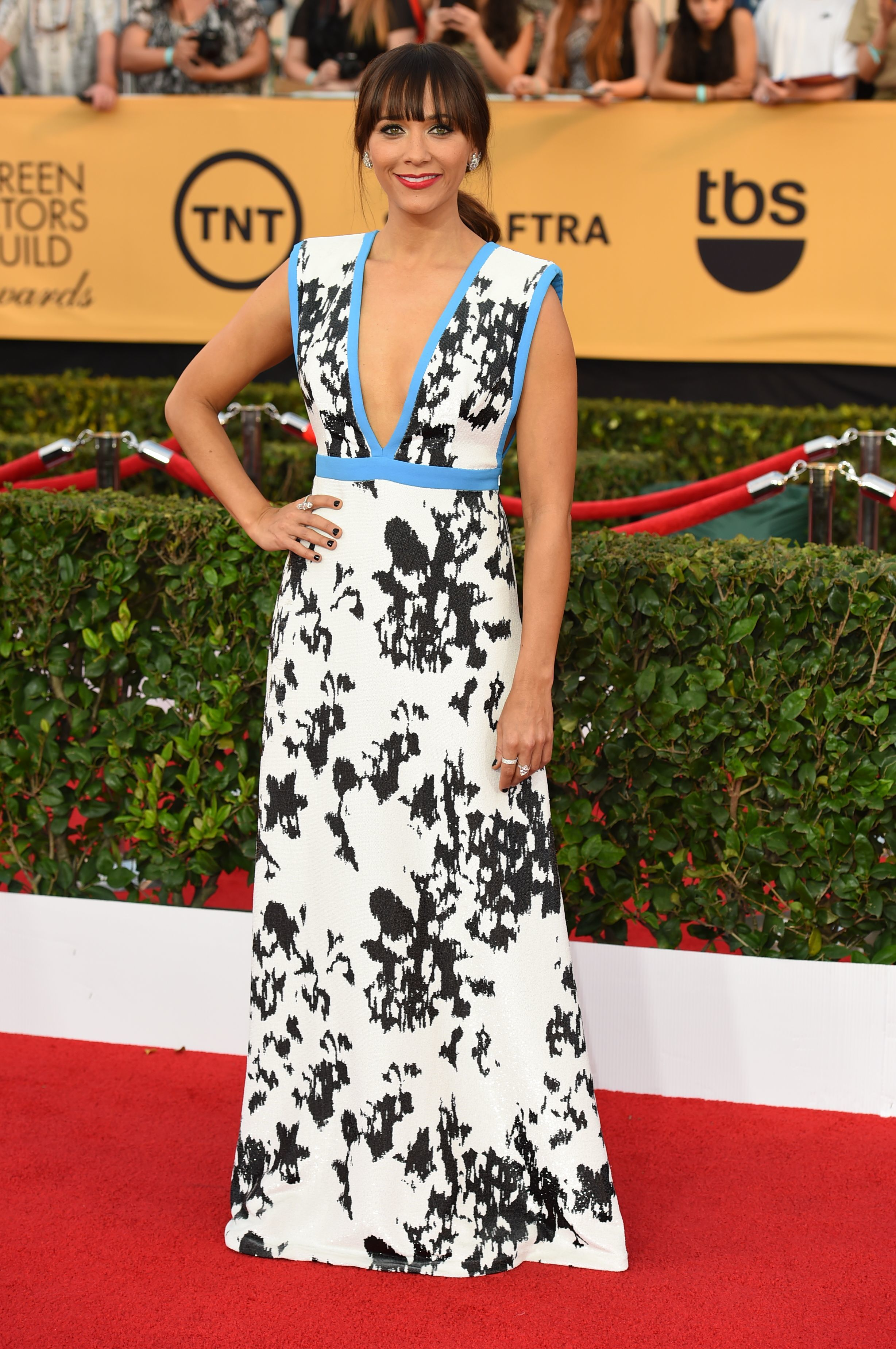 Rashida Jones was complimented on her 'tan' at the SAG Awards