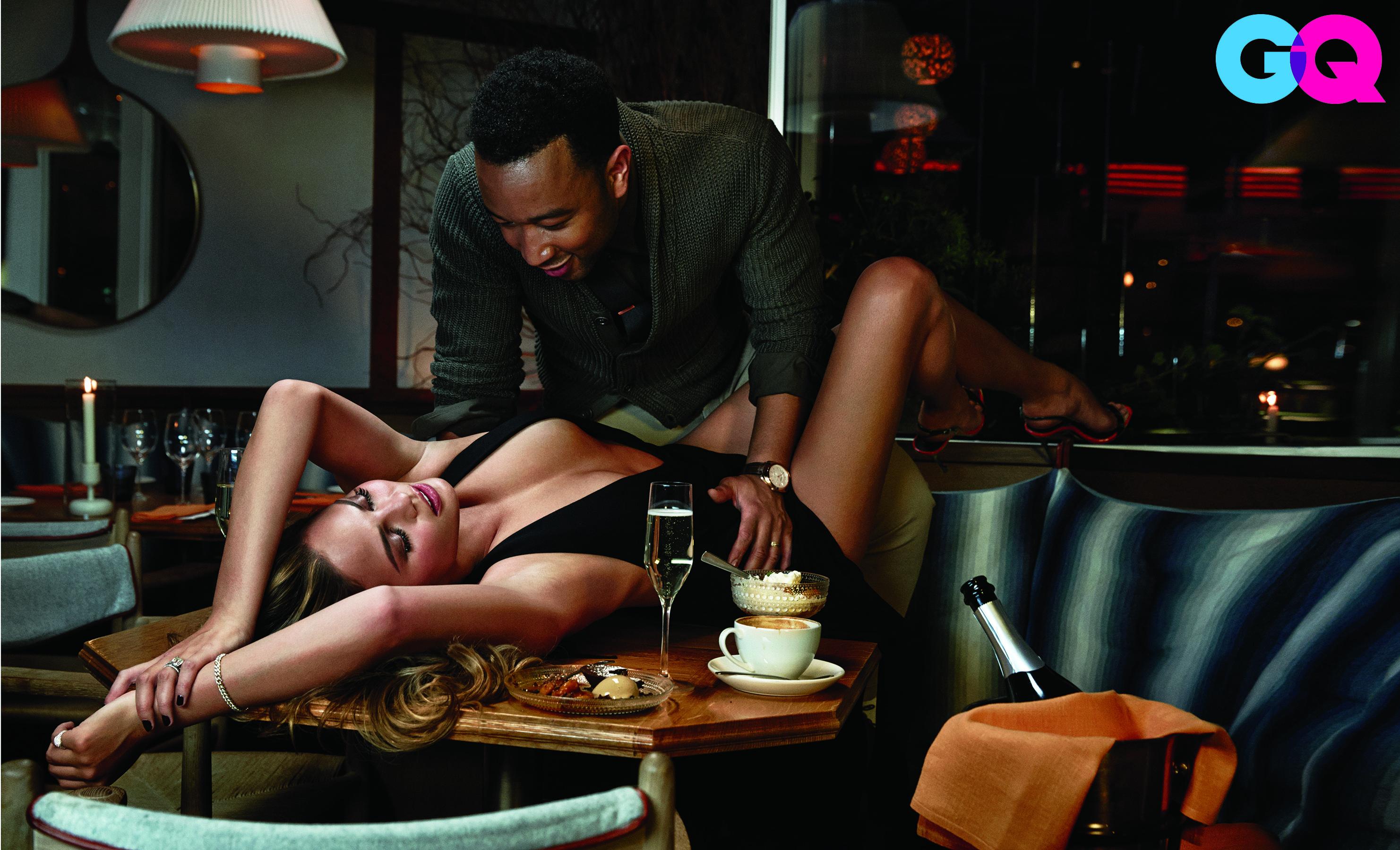 John Legend, Chrissy Teigen steam up the pages of GQ