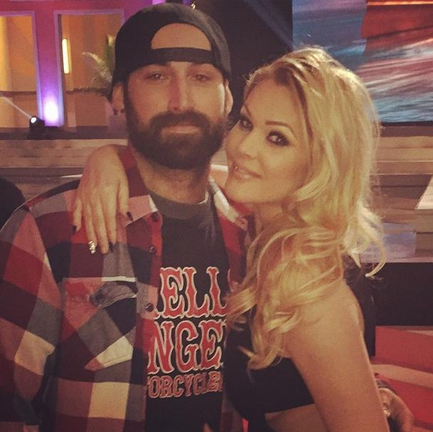 """U know he loves u when he sits through a 3 hour show for U... ❤️ you @tallblock_sfv""   Shanna Moakler, who posted this to Instagram on Jan. 26, 2015."