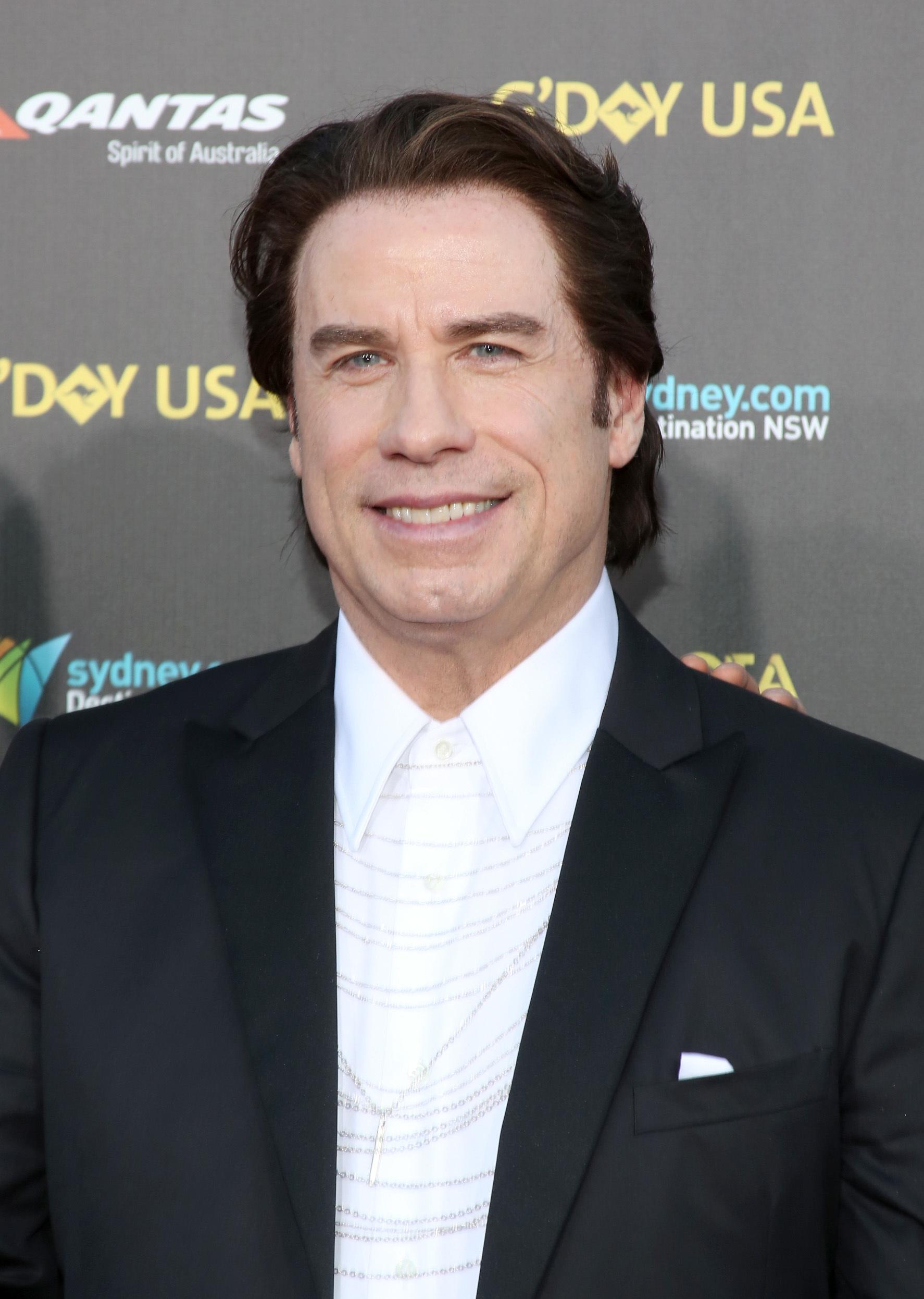 john travolta hair