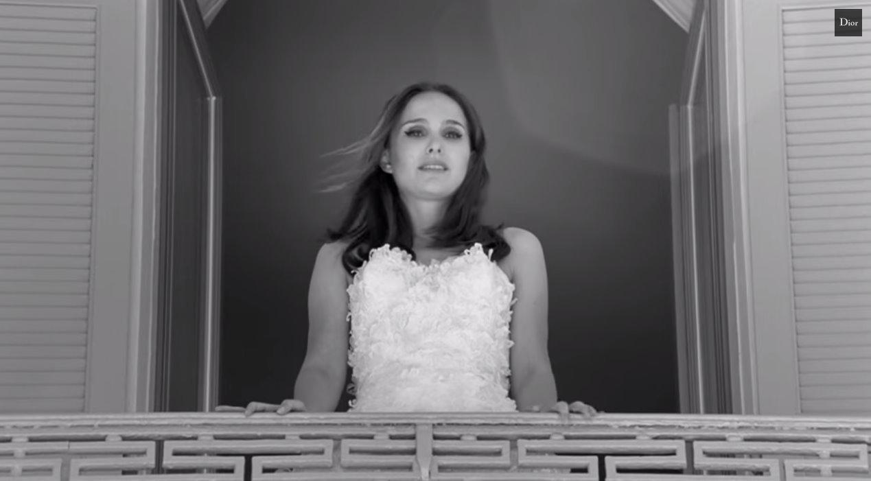 Natalie Portman is a runaway bride in new Miss Dior short film