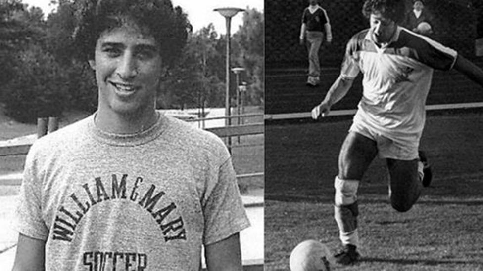Jon Stewart's college soccer pics win the Internet