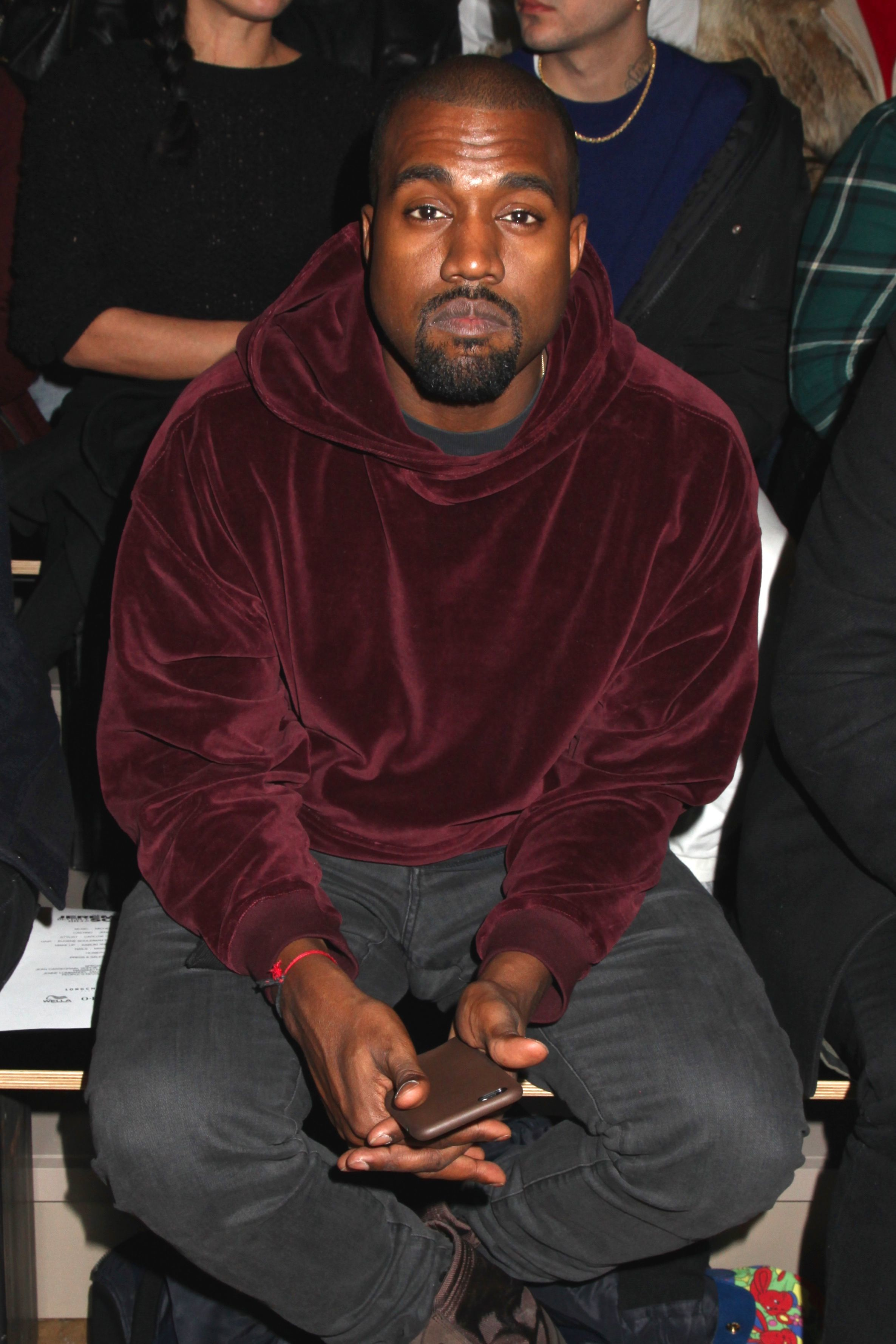 Kanye West breaks down in tears during an interview