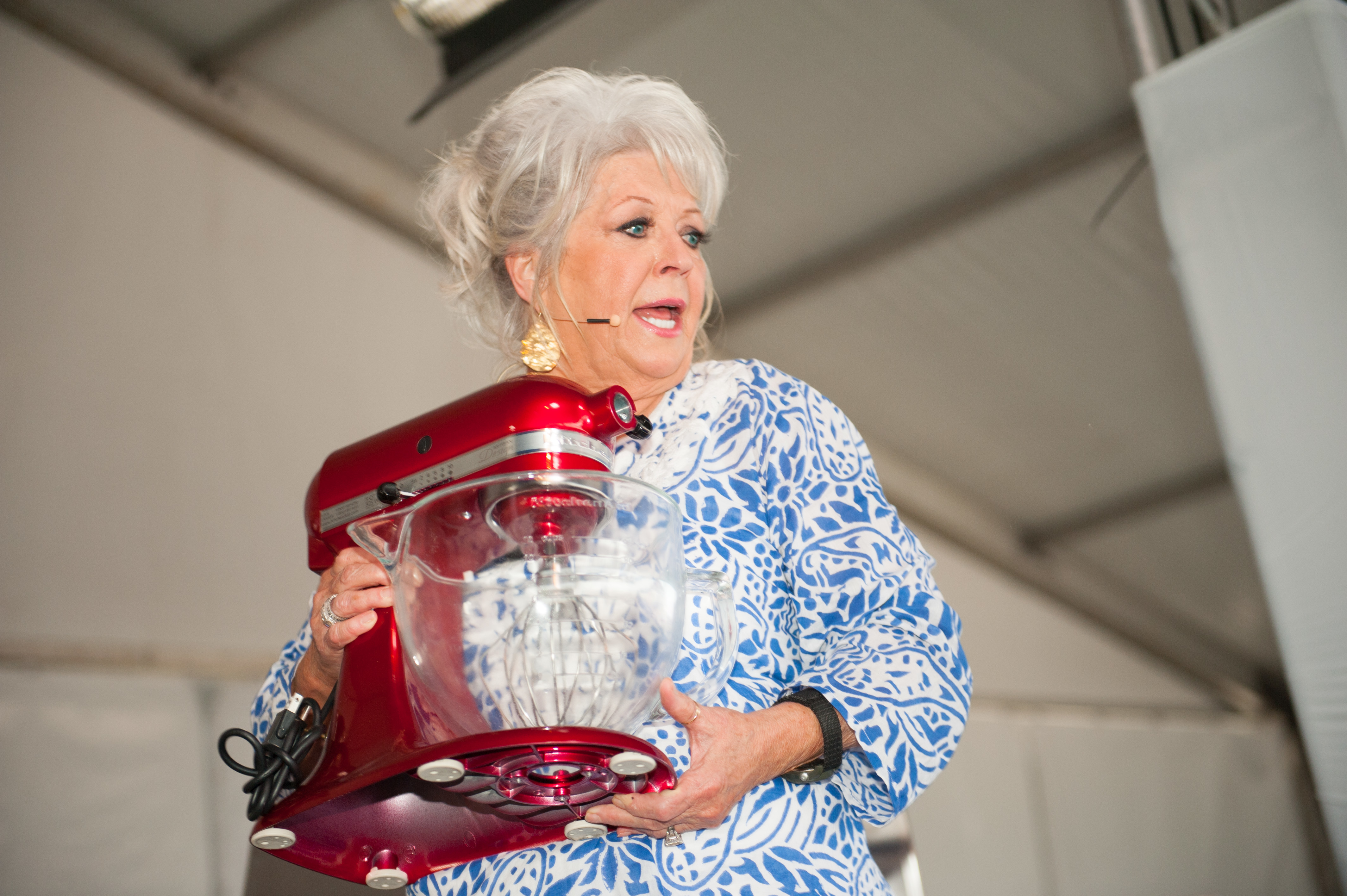 Paula Deen explains how she lost 35 pounds