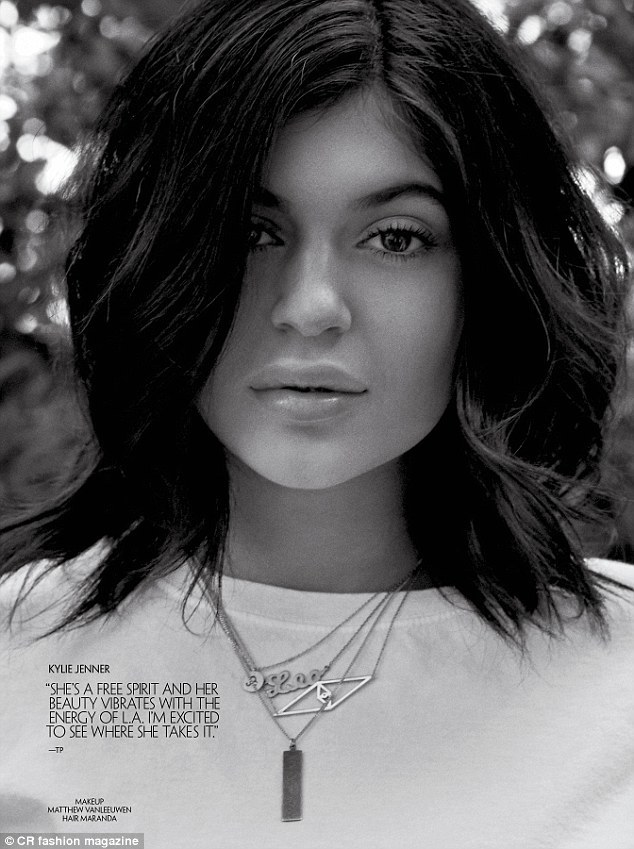 Kylie Jenner lands a spot in the pages of CR