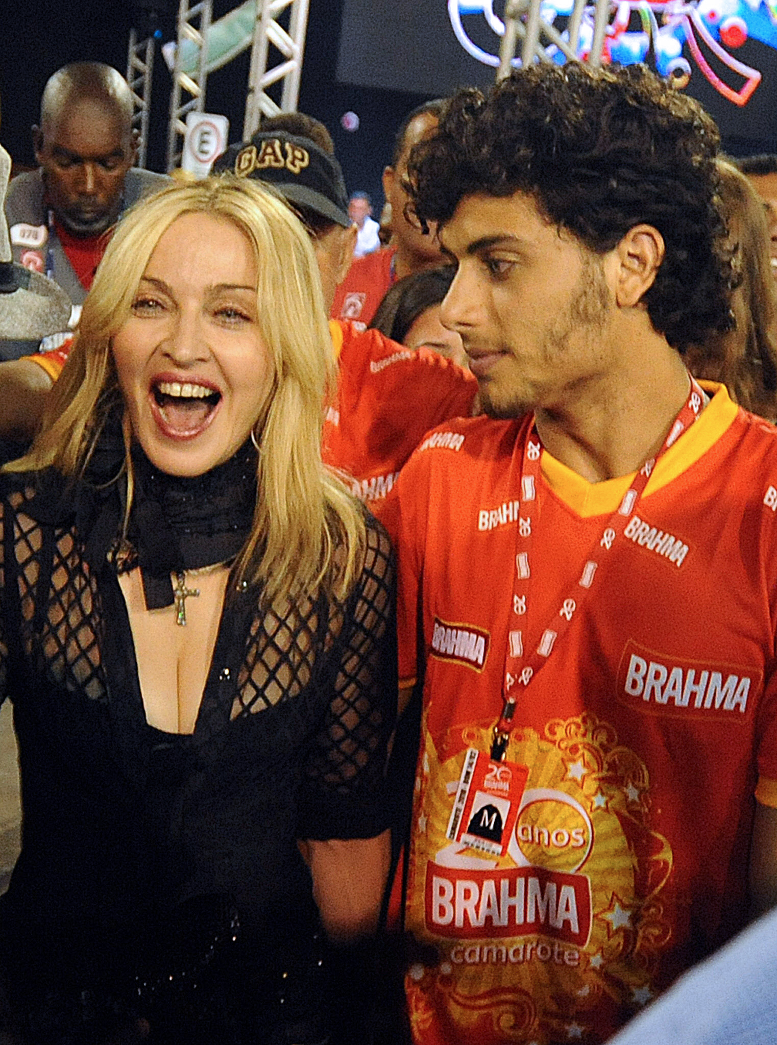 Jesus Luz Madonna Does Madonna Have A Rat Problem See One Scurry