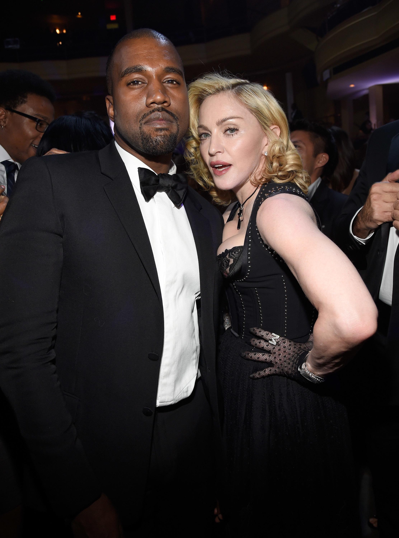 Madonna calls Kanye West 'the black Madonna'