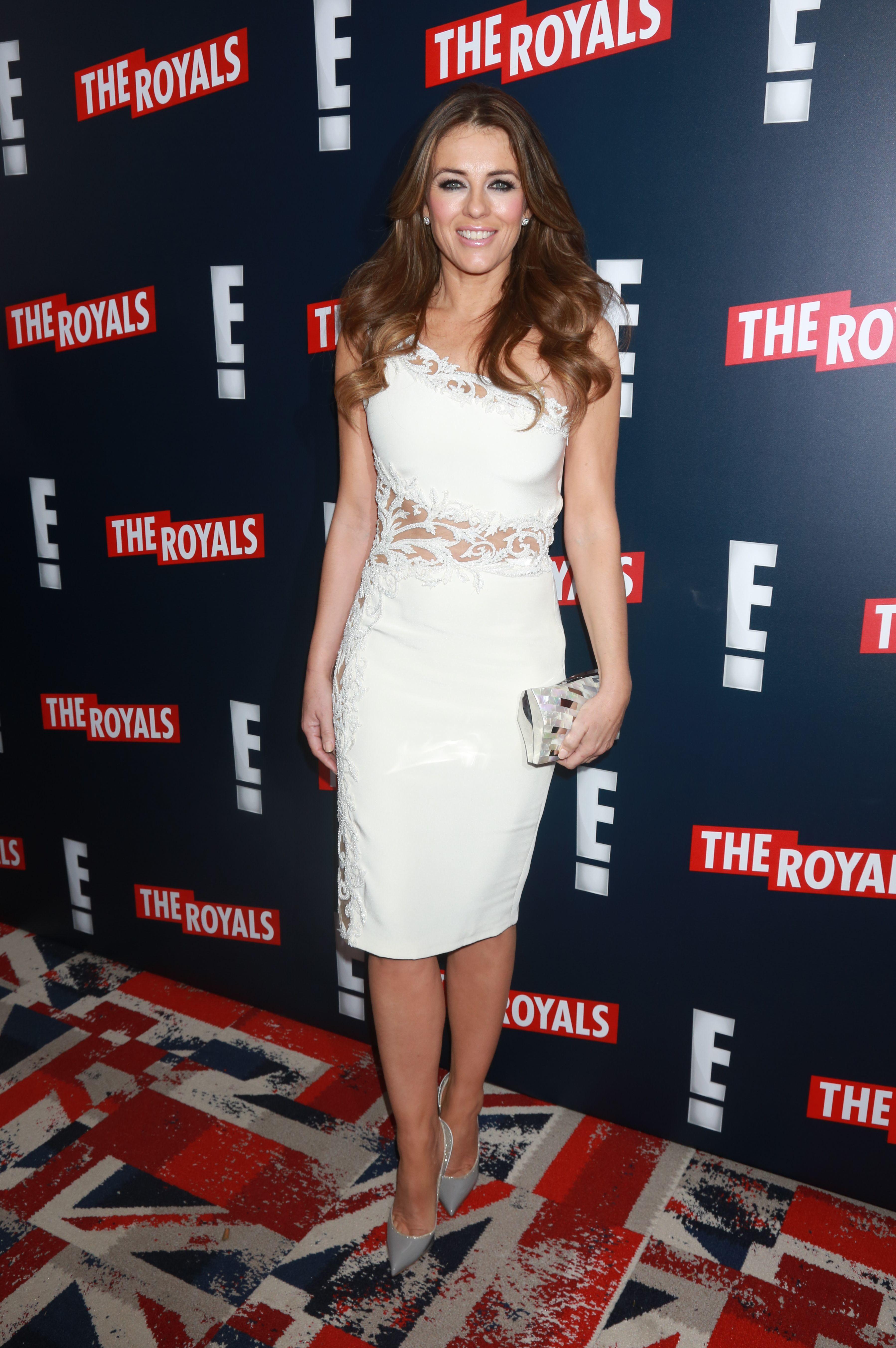 elizabeth hurley royals