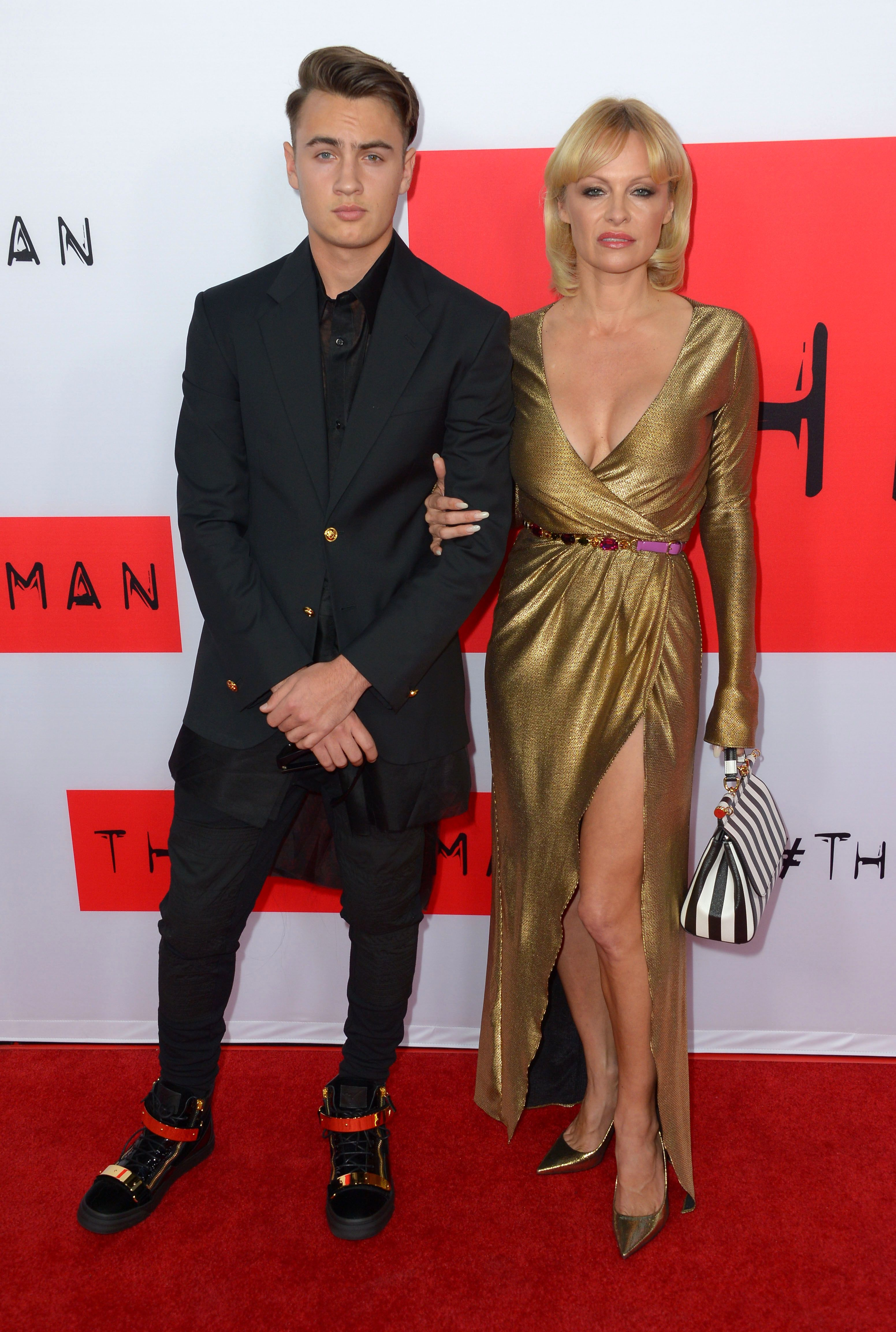 pam anderson son