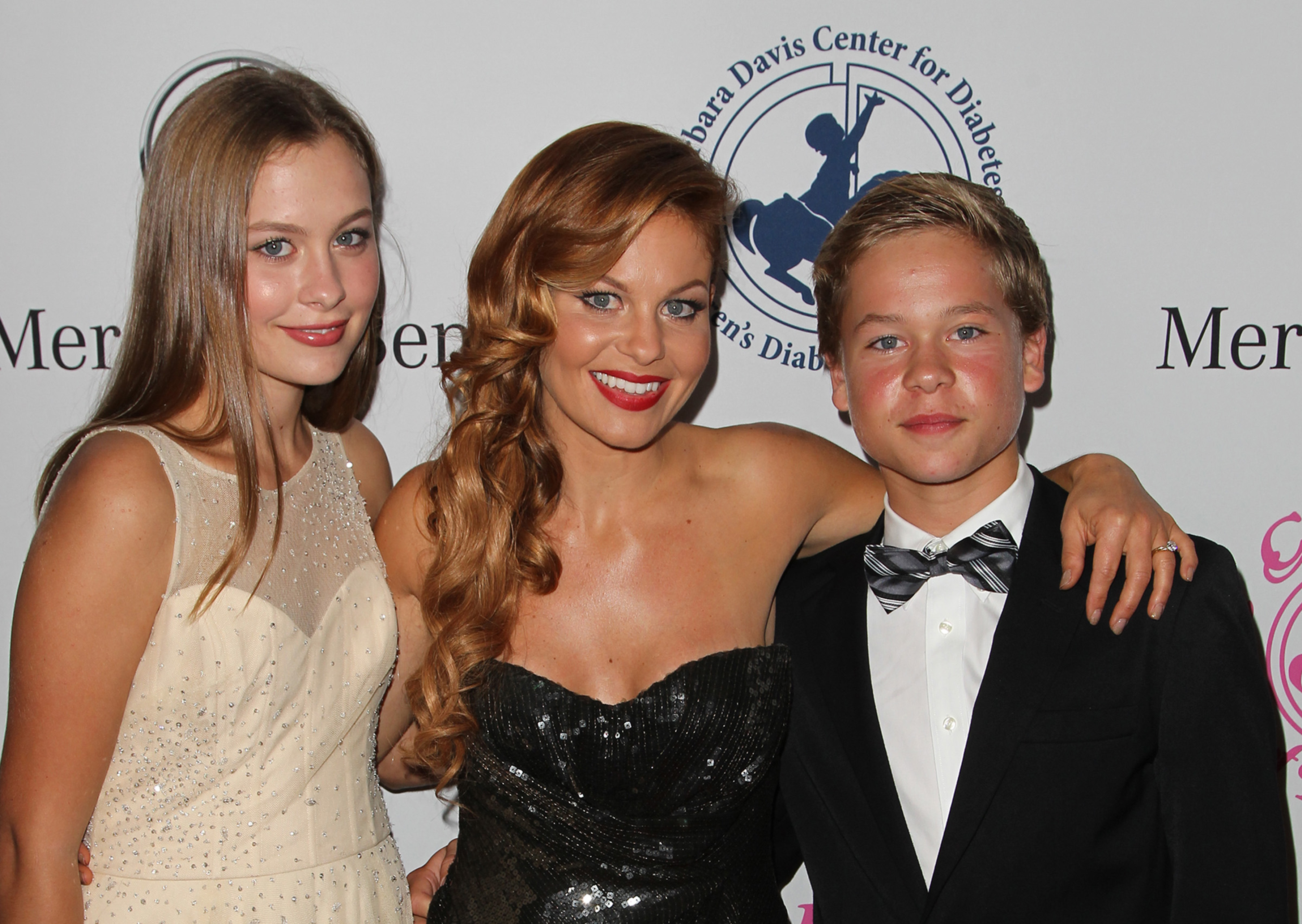 Candace Cameron Bure on how her kids' help with the family dog: