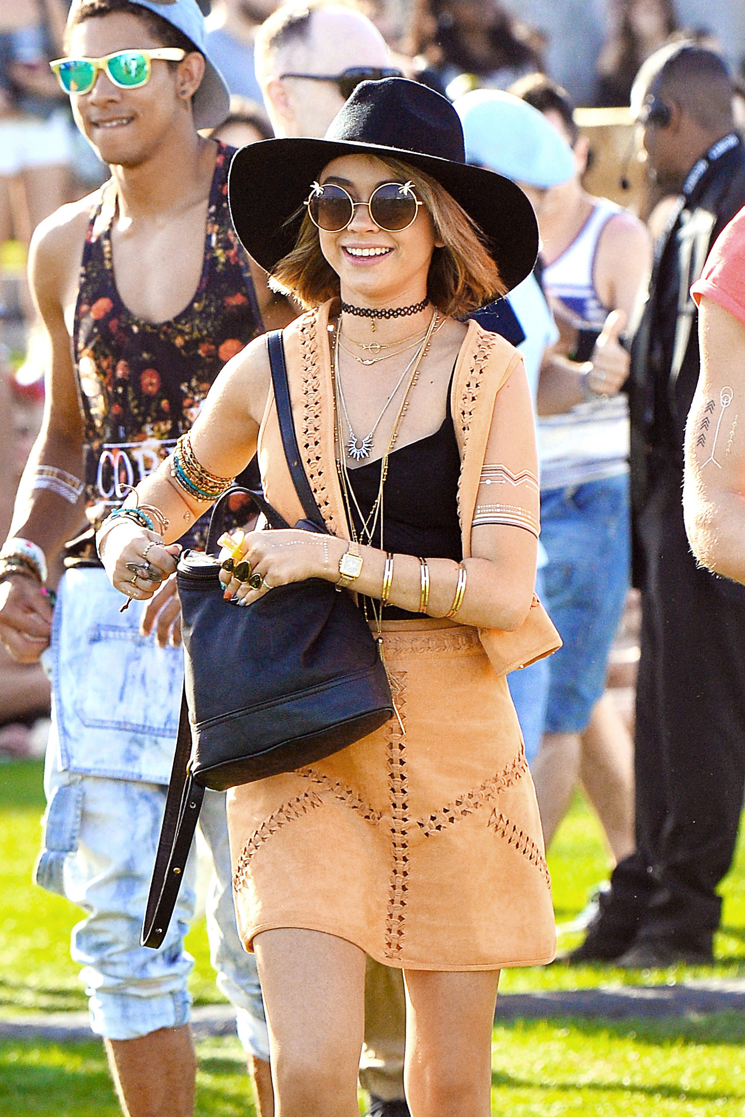 Sarah Hyland on her scariest Coachella experience: