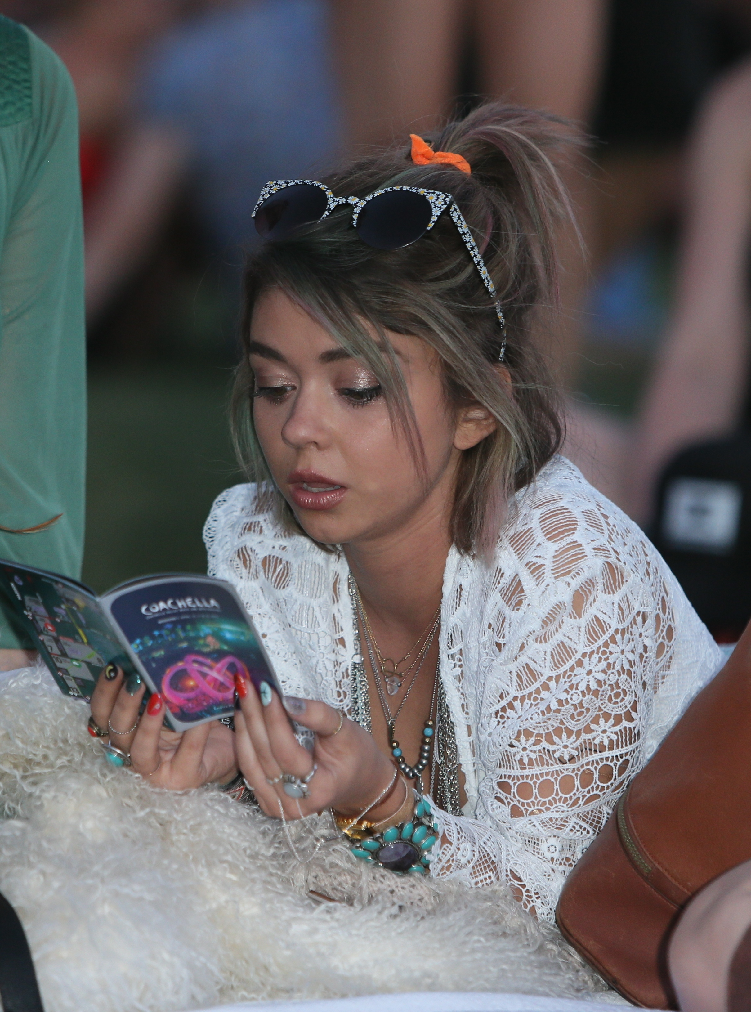 Sarah Hyland on why she loves Coachella and other music festivals: