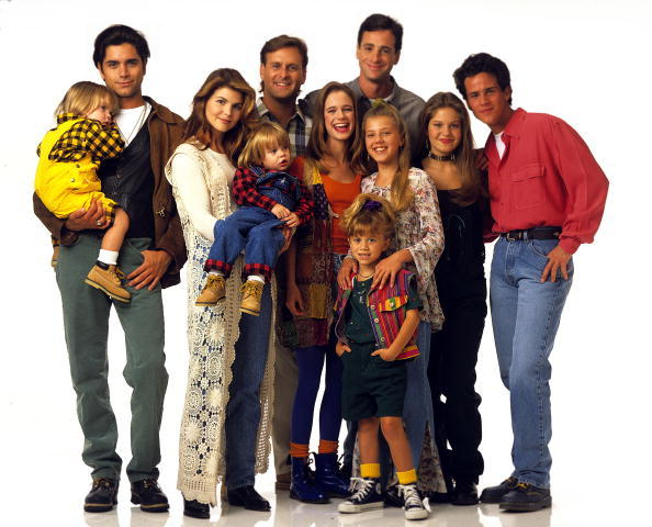 """Full House"" Cast 1993 Replay"