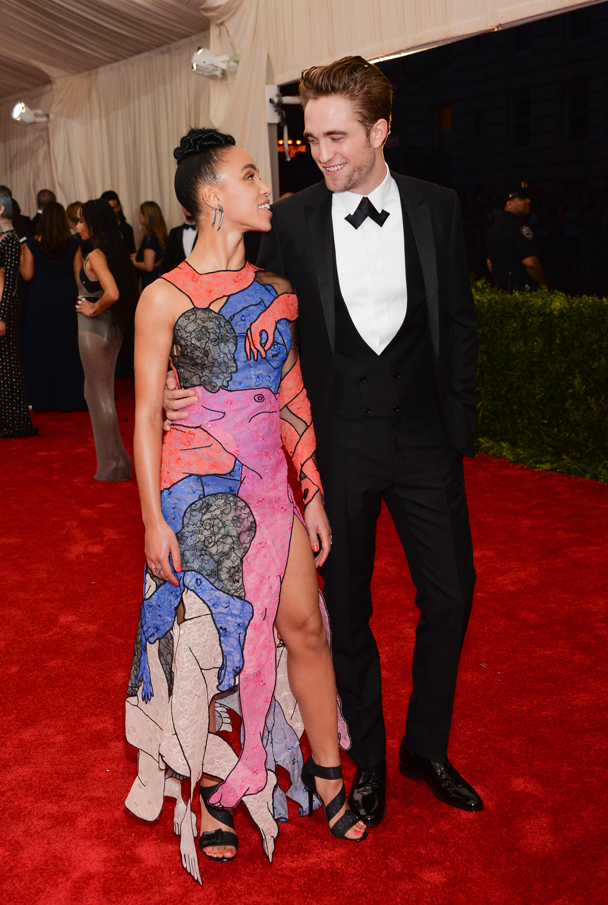 FKA Twigs is in 'an amazing relationship' despite the haters