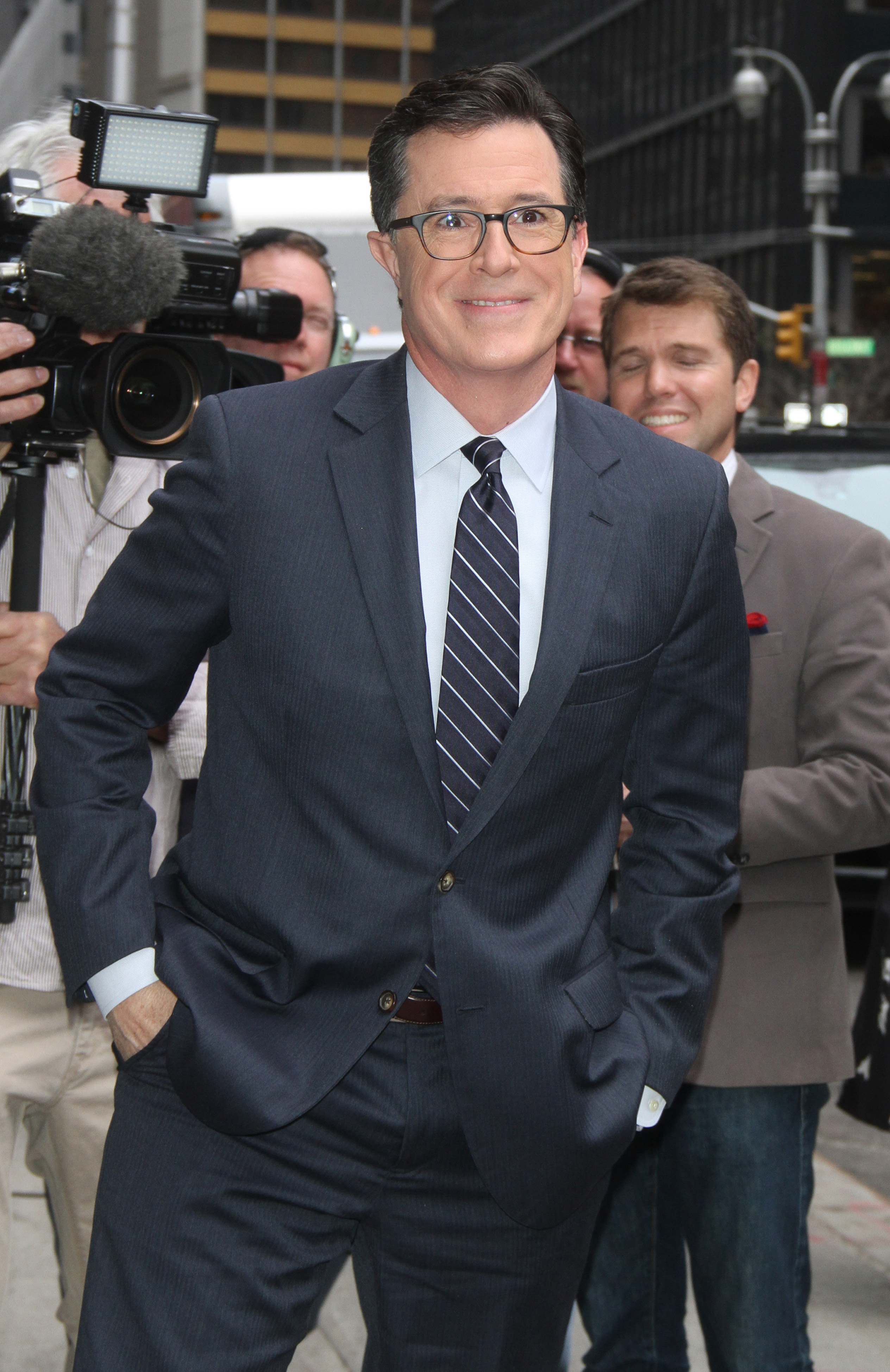 Stephen Colbert gets kicked off RNC stage
