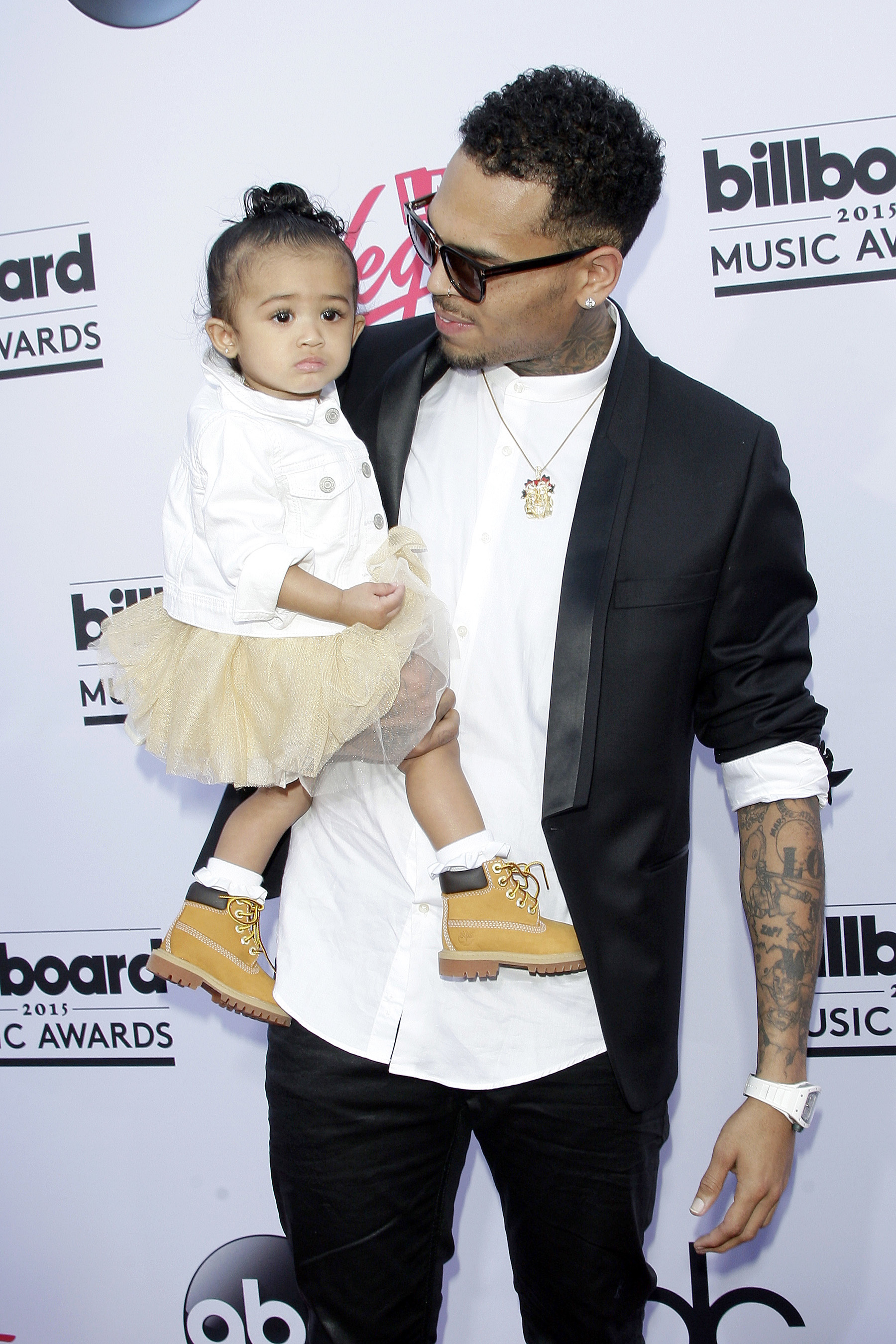 chris brown daughter