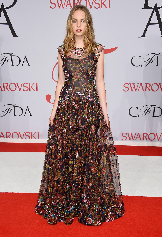 Introducing future fashionista, Maya Thurman Hawke