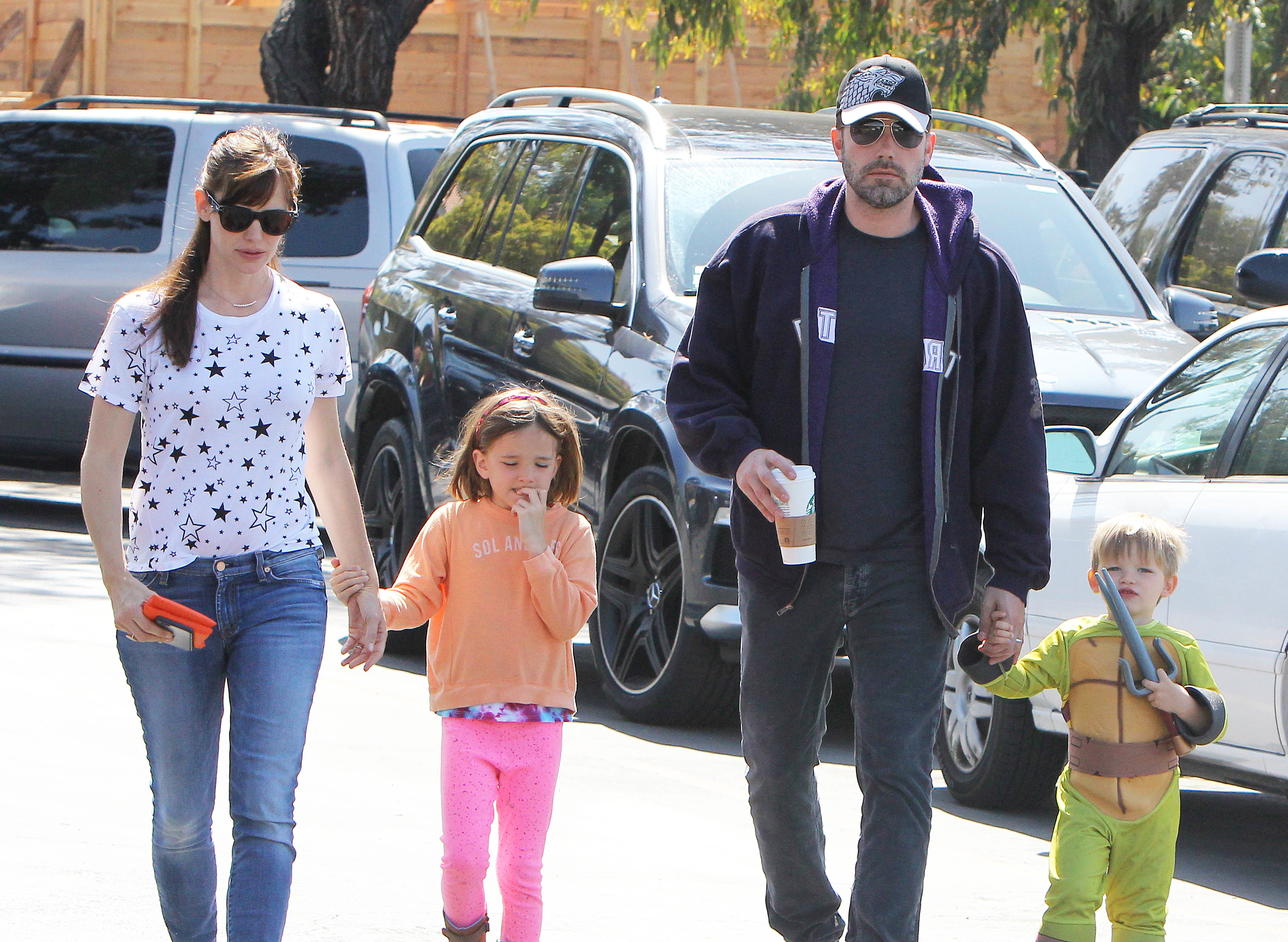 Ben and Jen step out with kids again amidst reports of marital woes