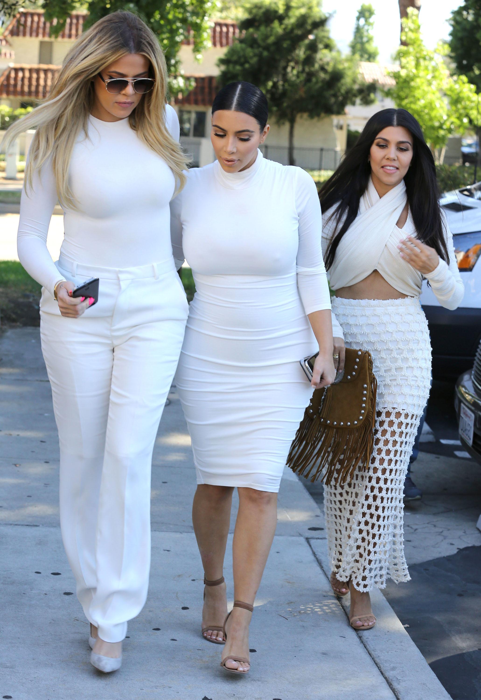 kardashian sister white